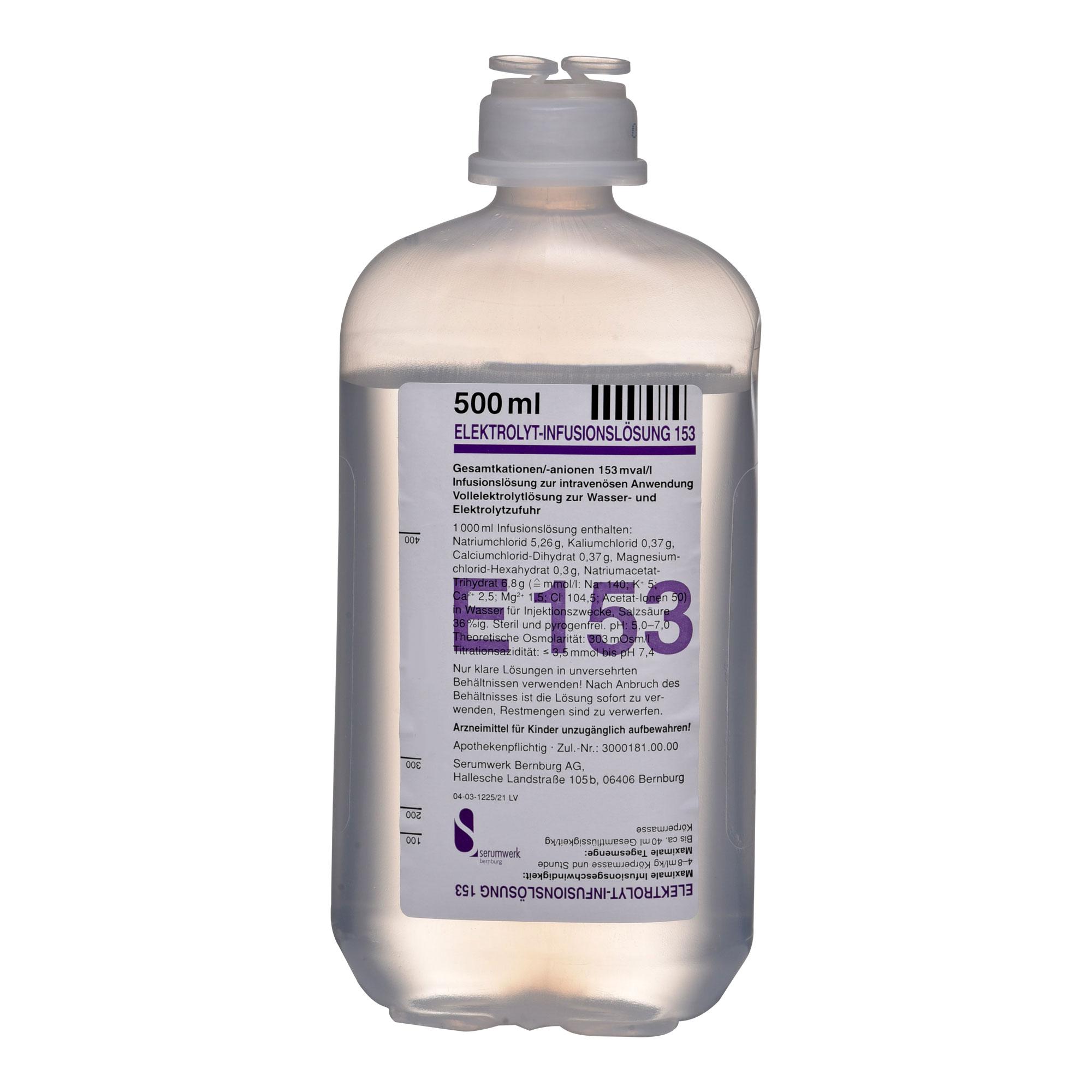 Elektrolyt Inf.-Lsg. 153 Pe-Flasche