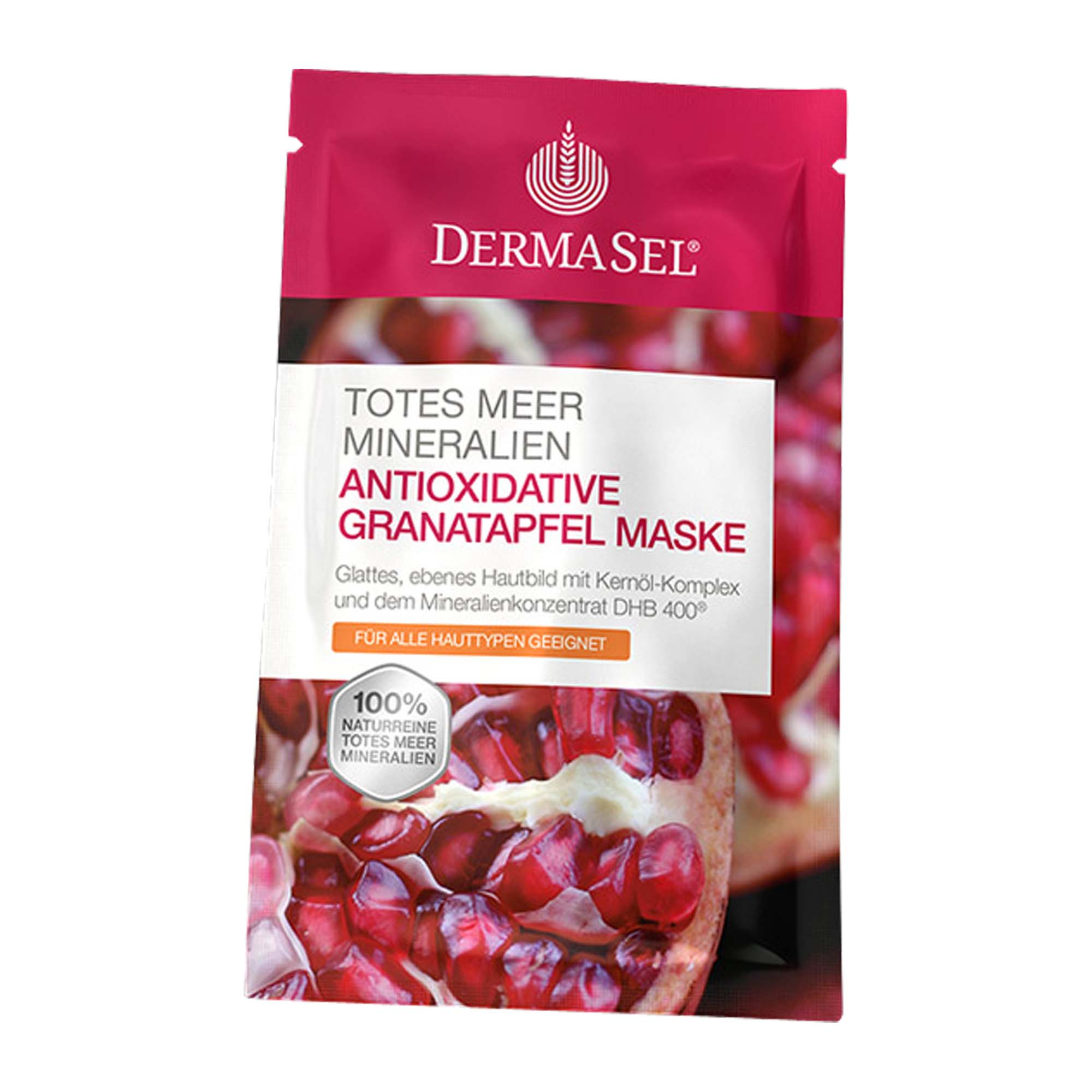 DermaSel Spa Totes Meer Maske Granatapfel