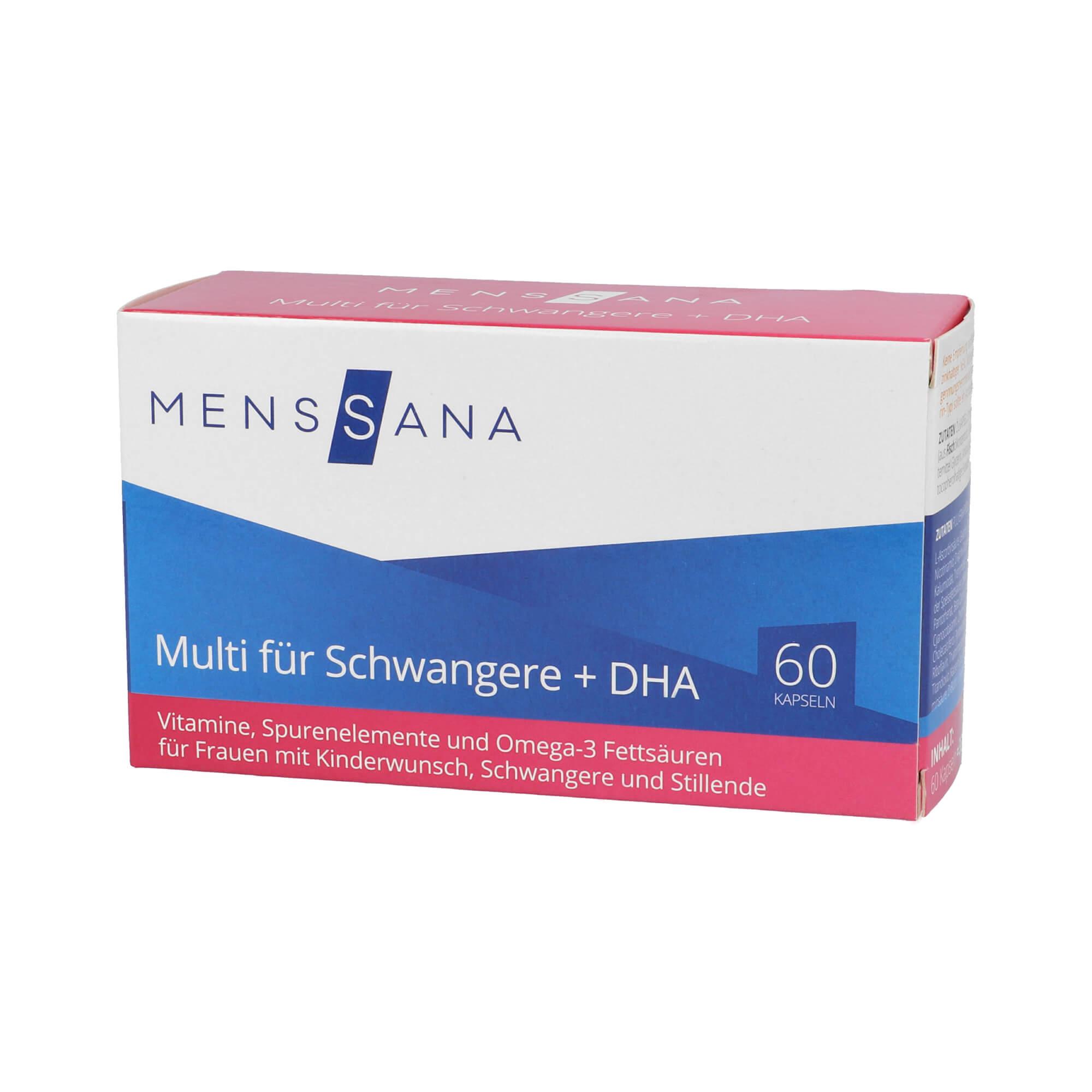 Multi für Schwangere + DHA MensSana