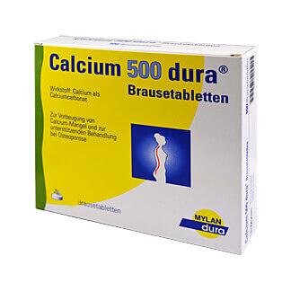 Gesundheit & Wohlbefinden Calcium 500 Dura Brausetabletten