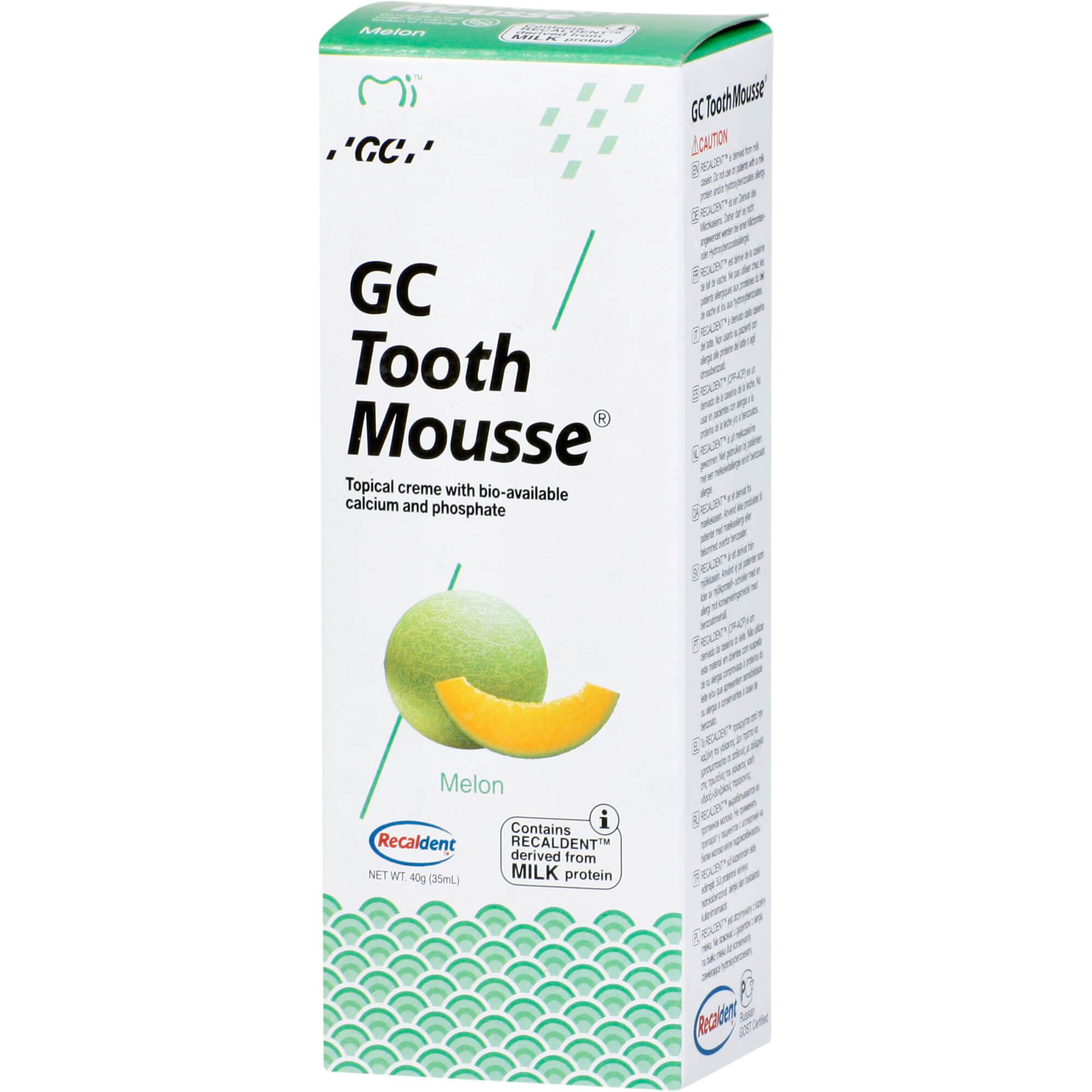 GC Tooth Mousse Melone