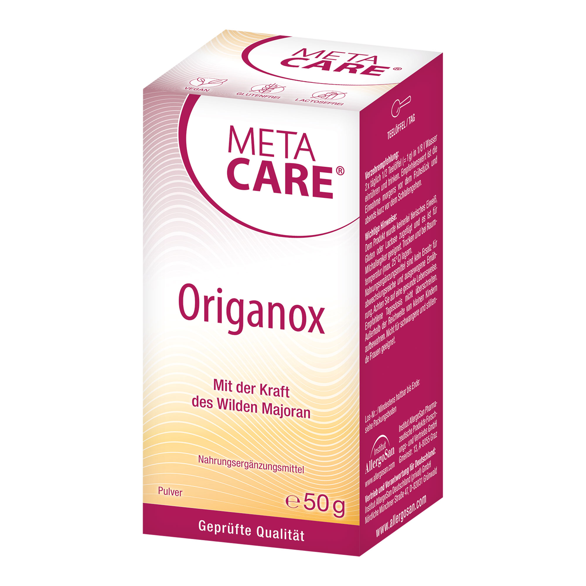 Meta Care Origanox Pulver