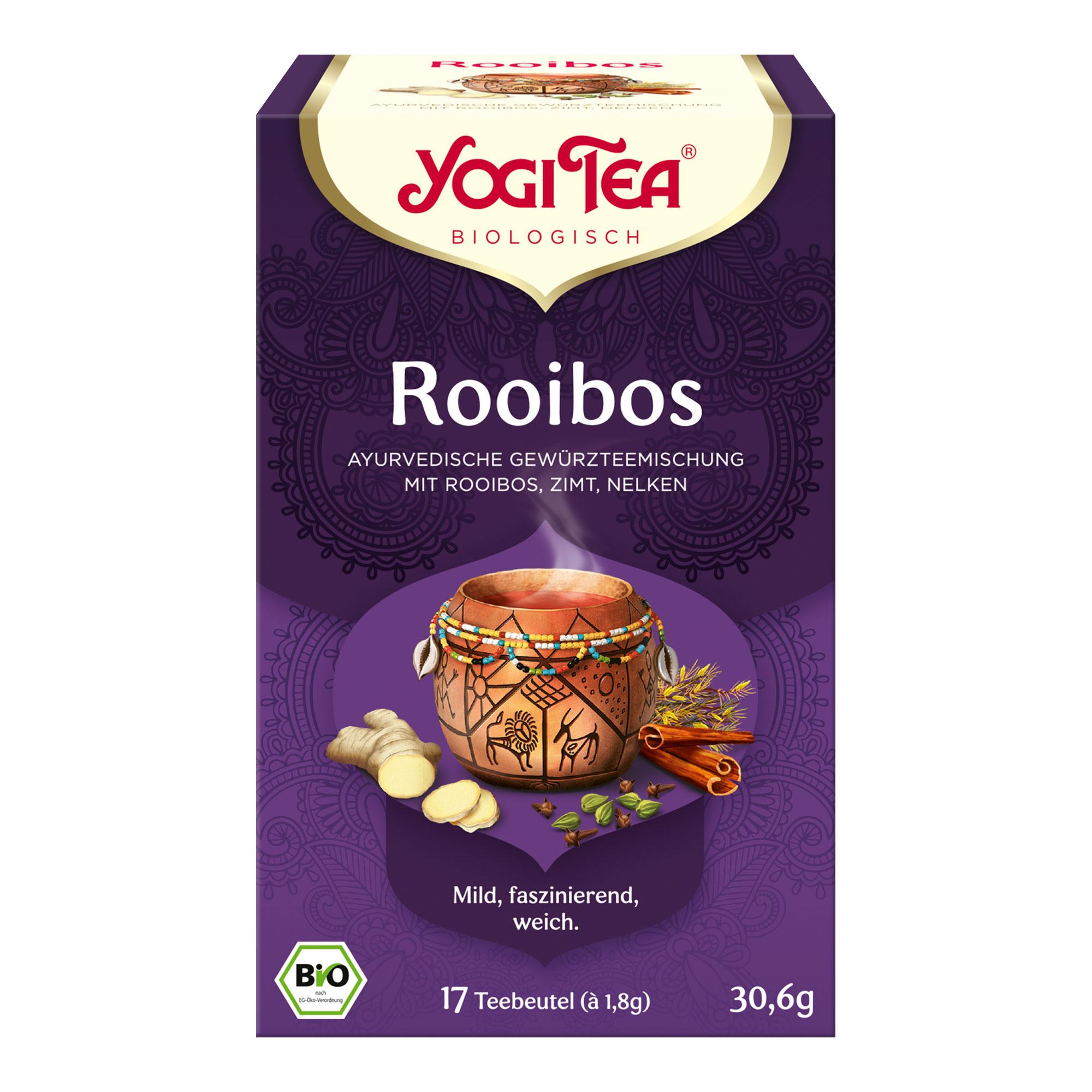 Yogi TEA Rotbusch Bio