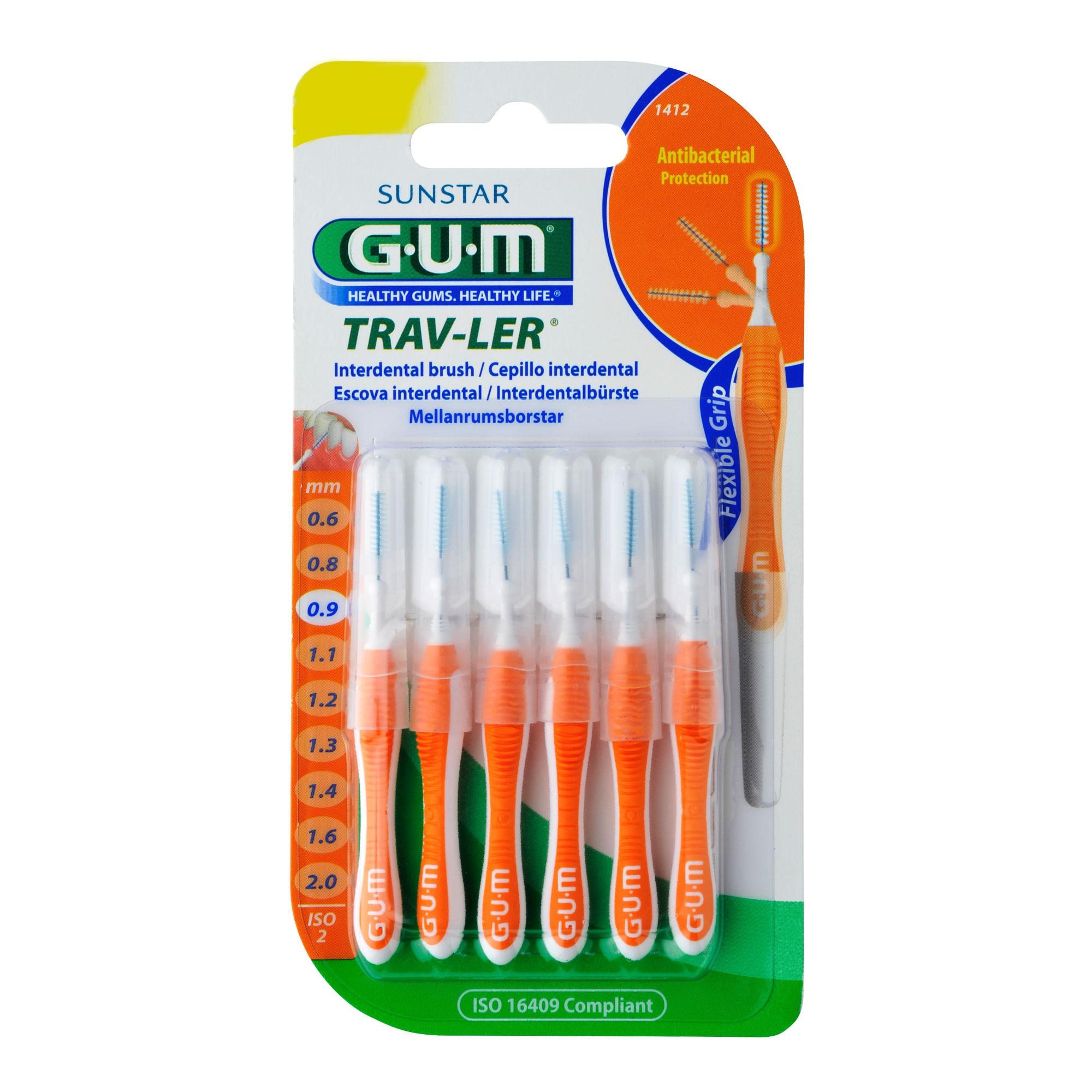 GUM Trav-Ler Kerze orange