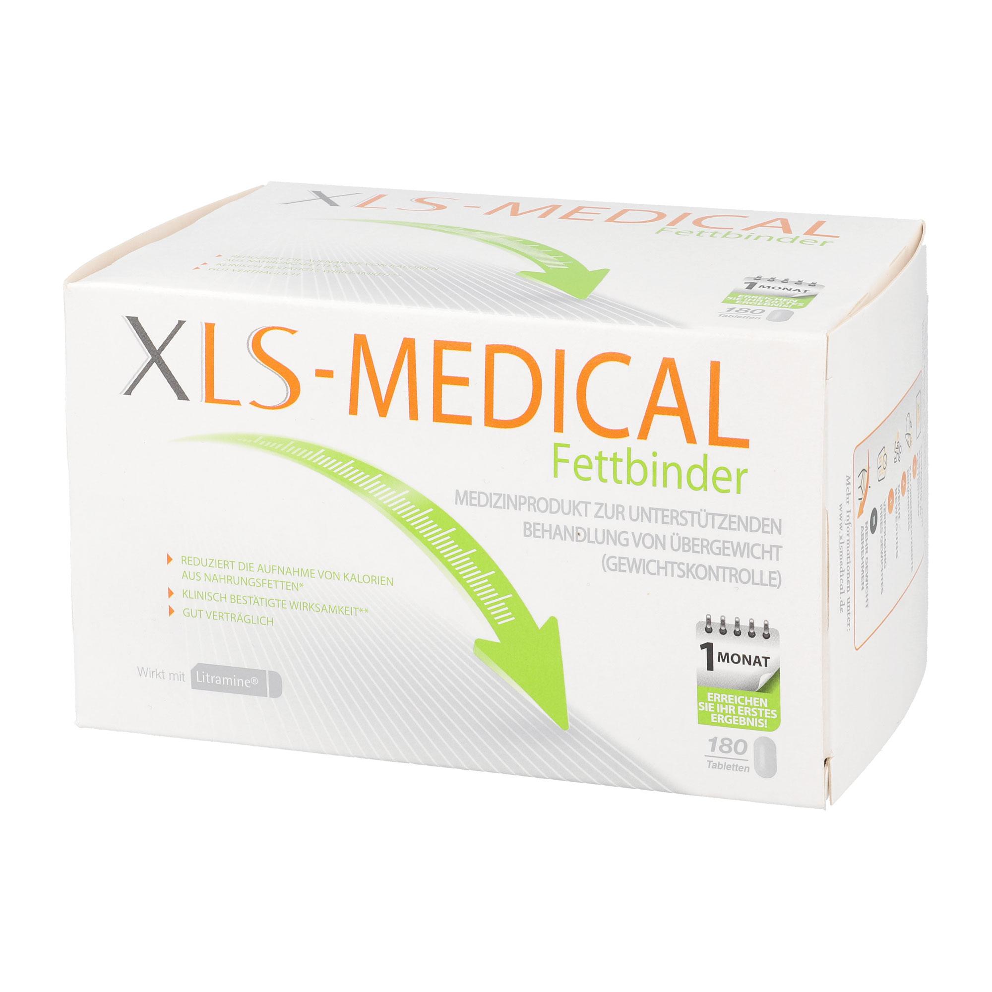 XLS-Medical Fettbinder Monatspackung