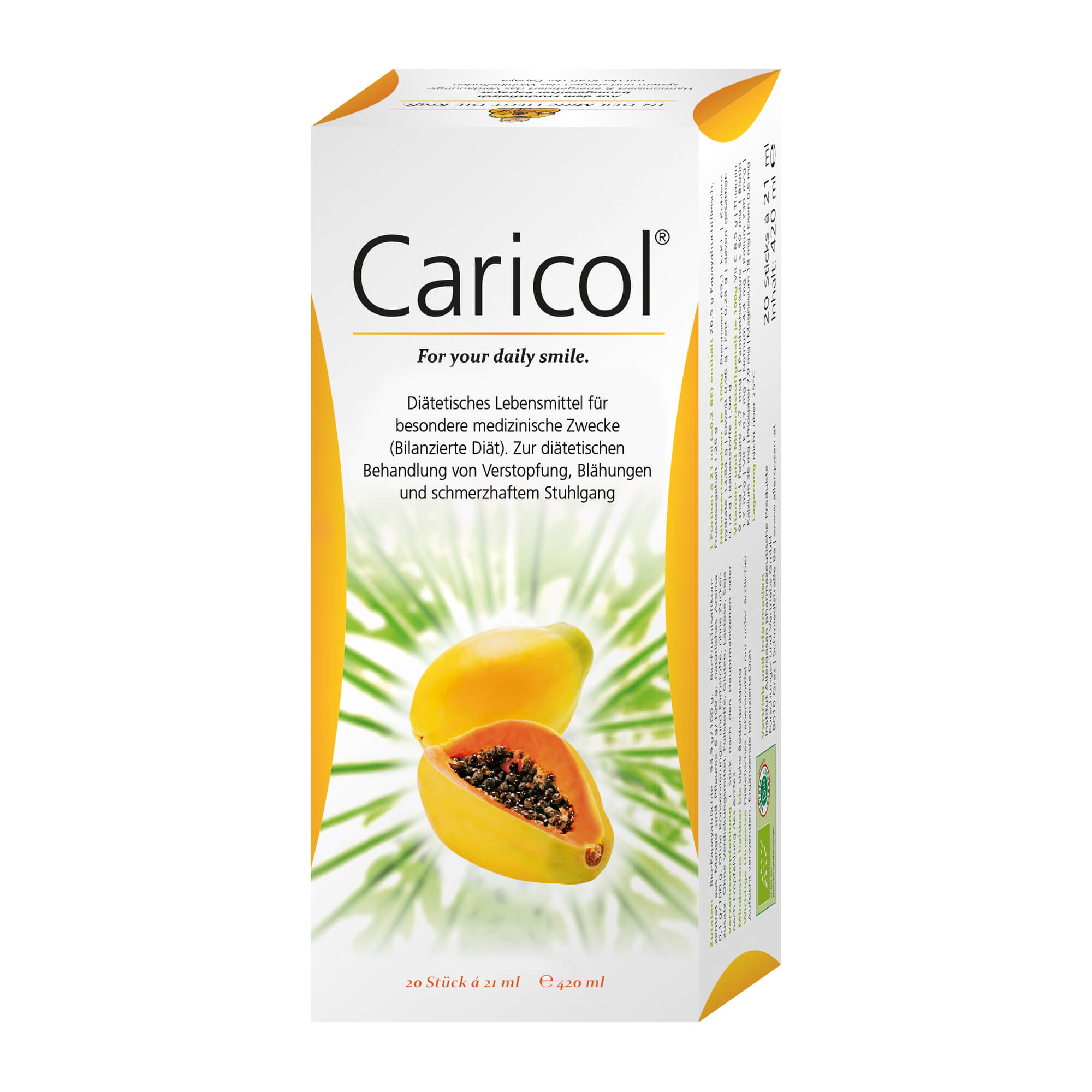 Caricol Beutel Diätetisches Lebensmittel