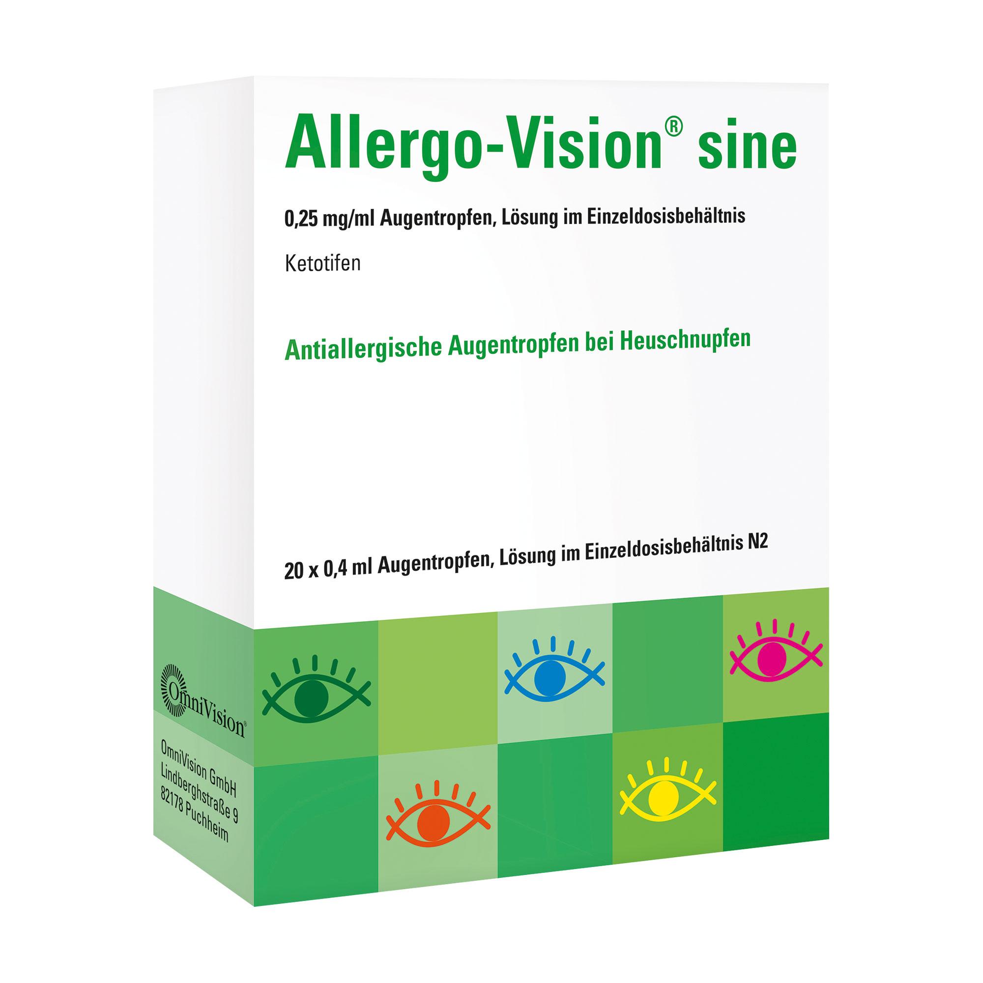 Allergo-Vision Sine 0,25 mg/ml AT im Einzeldosenbehältnis