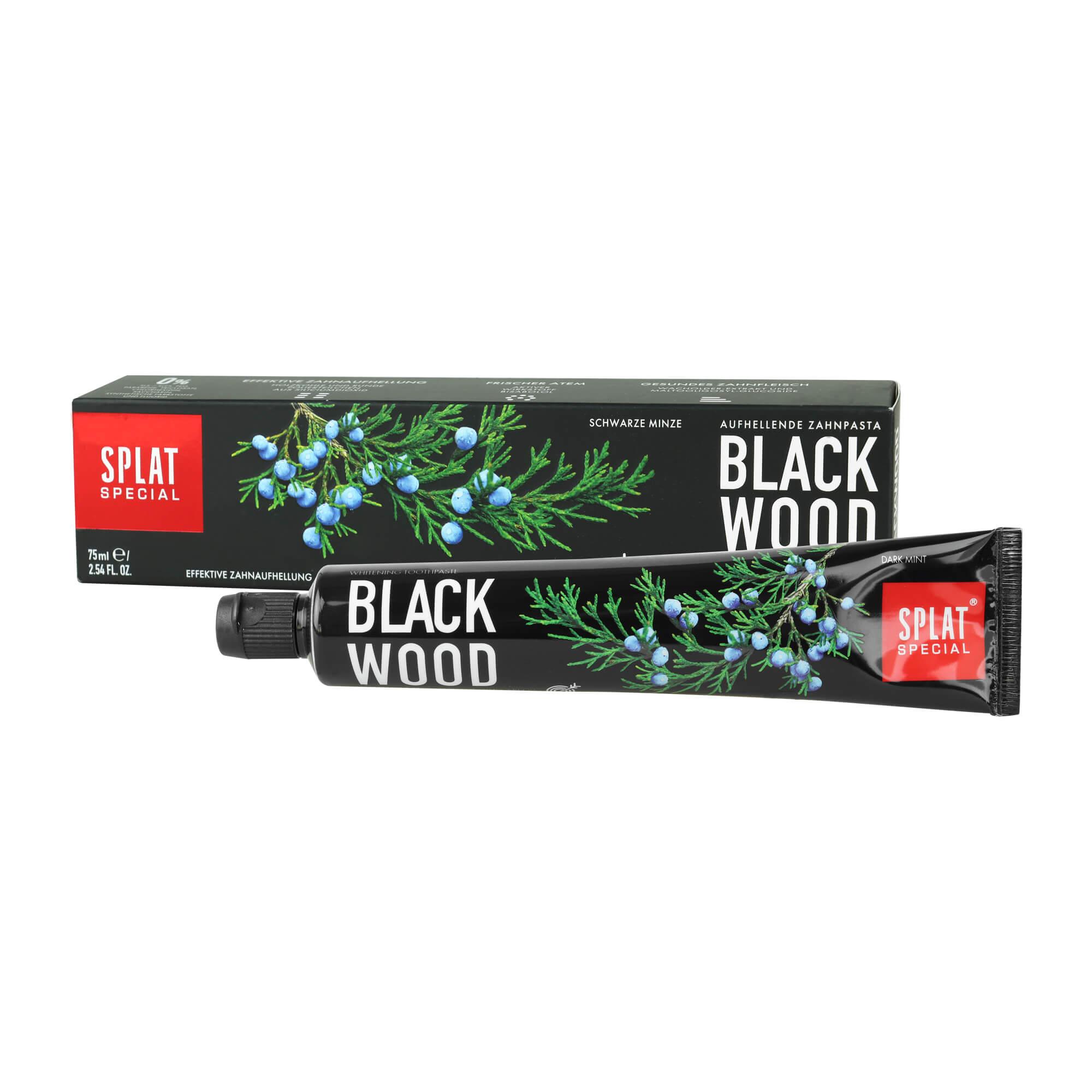 SPLAT Blackwood Whitening Zahnpasta