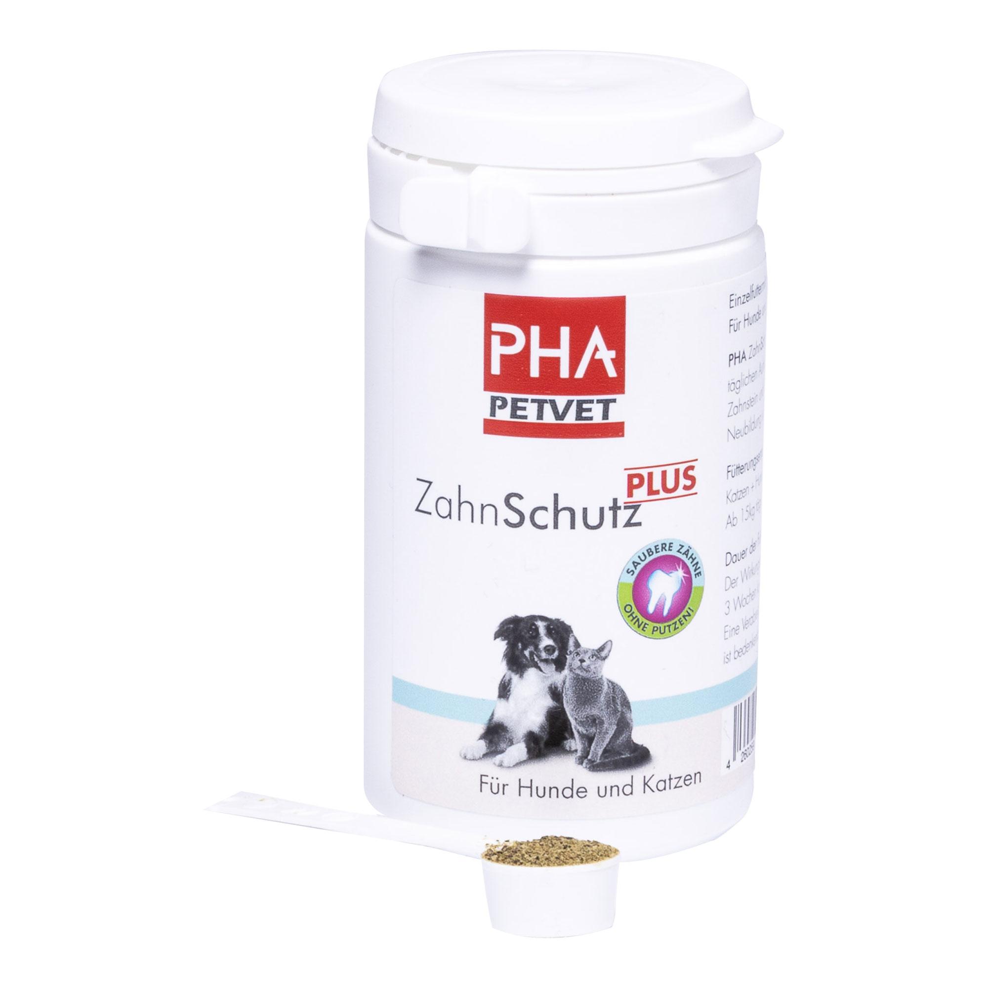 PHA Zahn-Schutz Plus Pulver für Hunde/Katzen