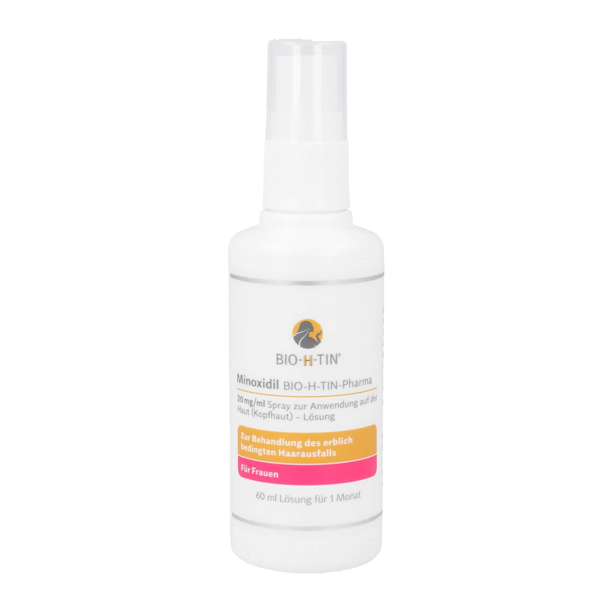 Minoxidil BIO-H-TIN-Pharma 20mg/ml Frauen