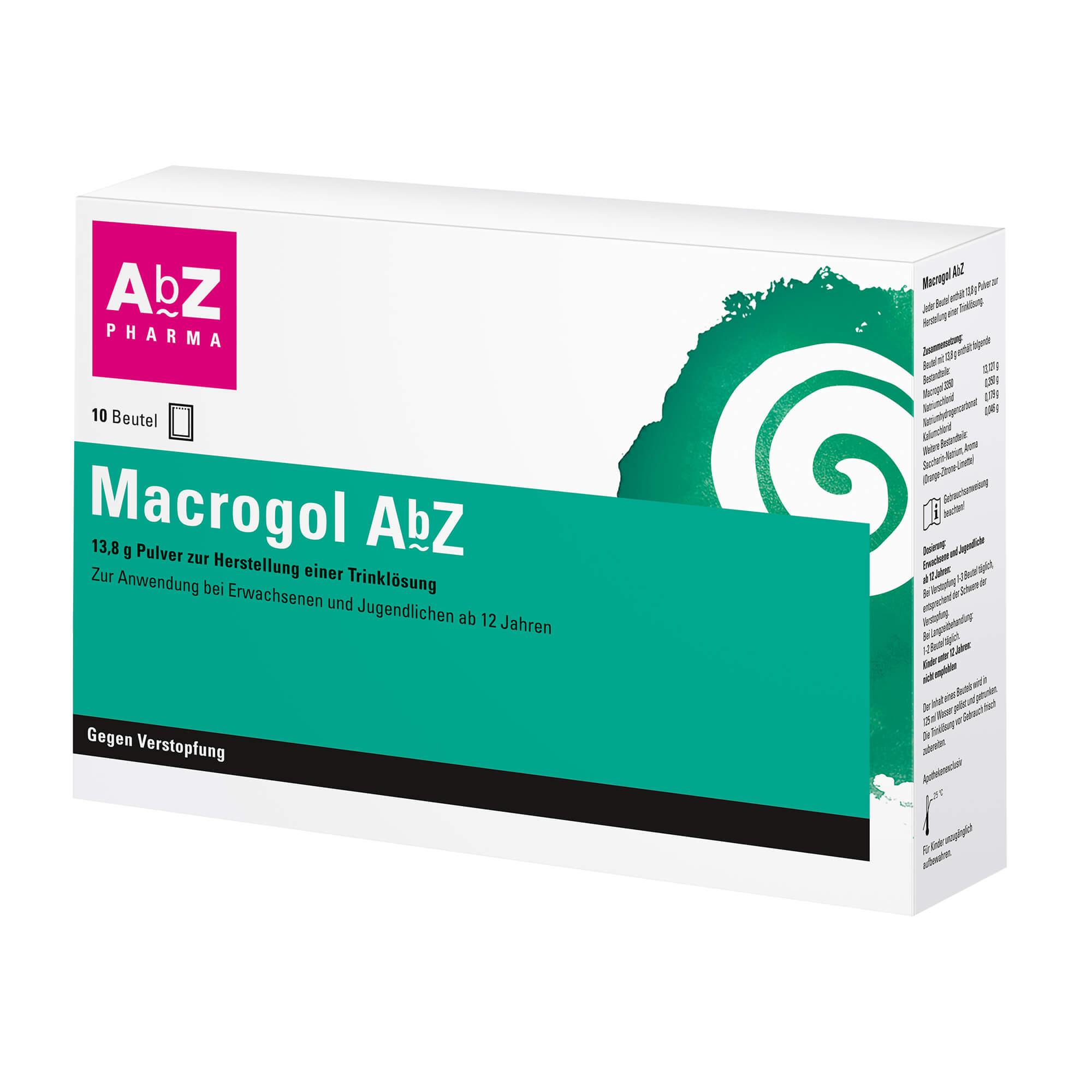 Macrogol AbZ Pulver zur Herstellung einer Lösung