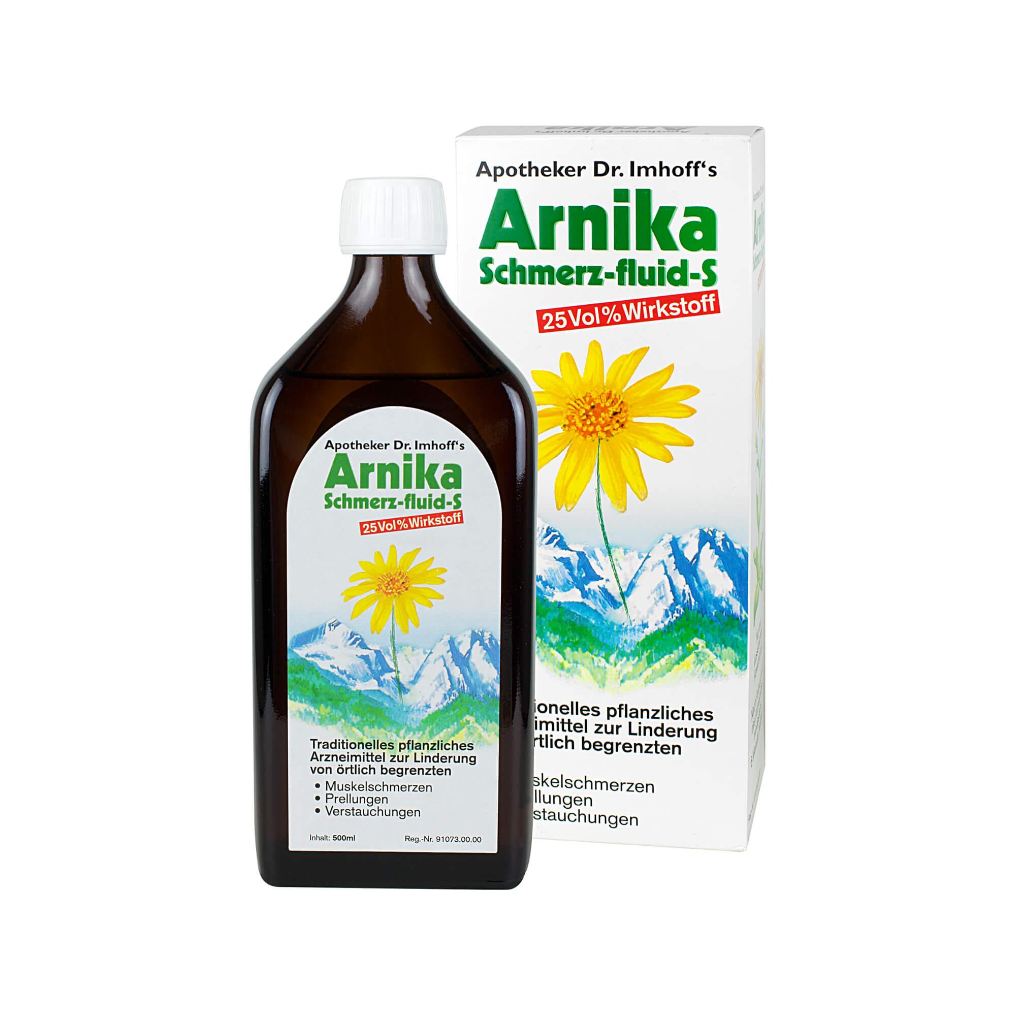 Apotheker Dr. Imhoff's Arnika Schmerz-fluid S