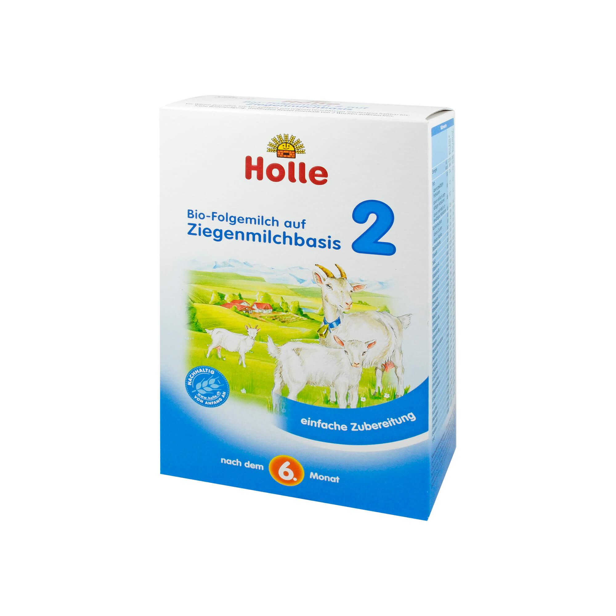 Holle Bio Folgemilch 2 Auf Ziegenmilchbasis Pulver