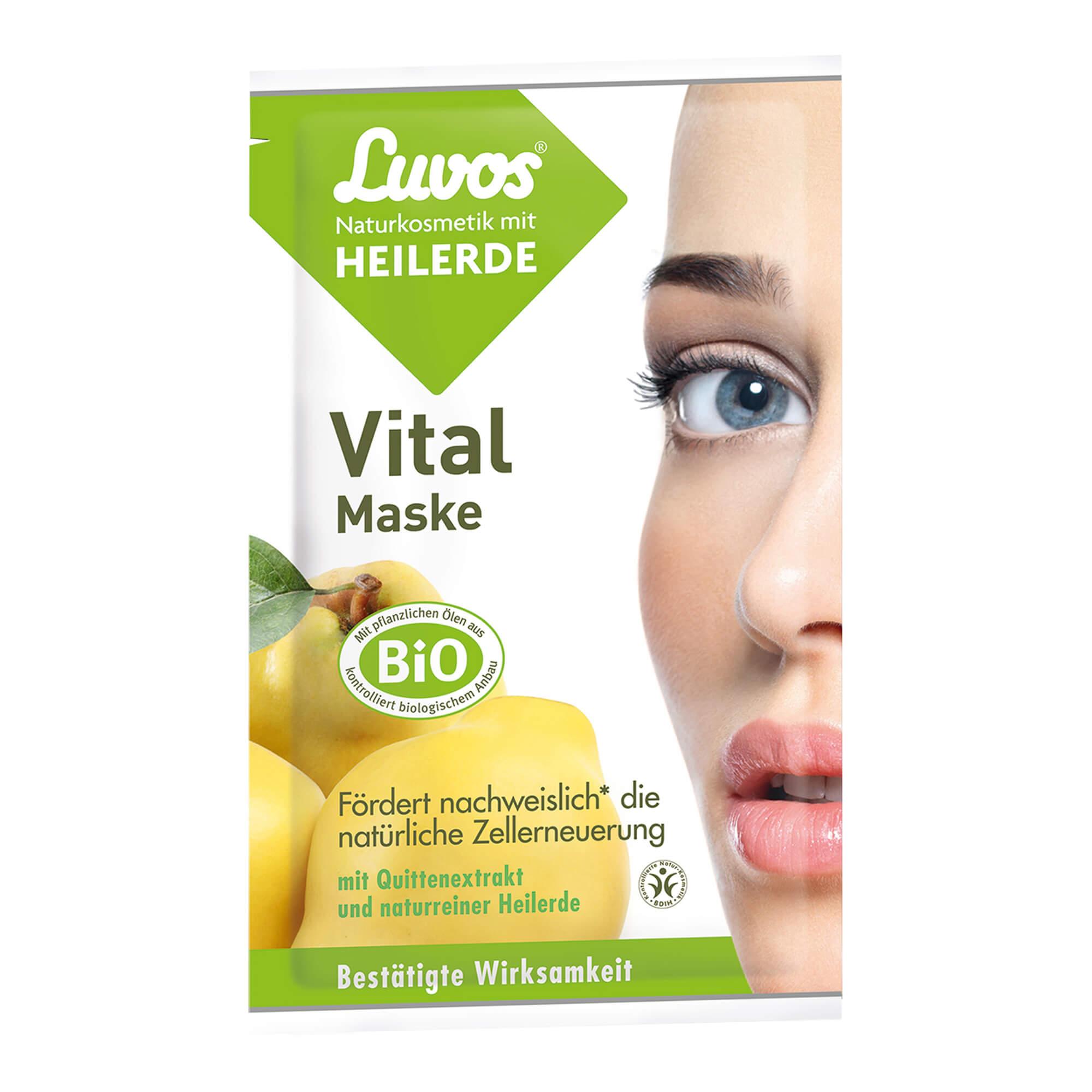 Luvos Naturkosmetik Heilerde Vital Maske