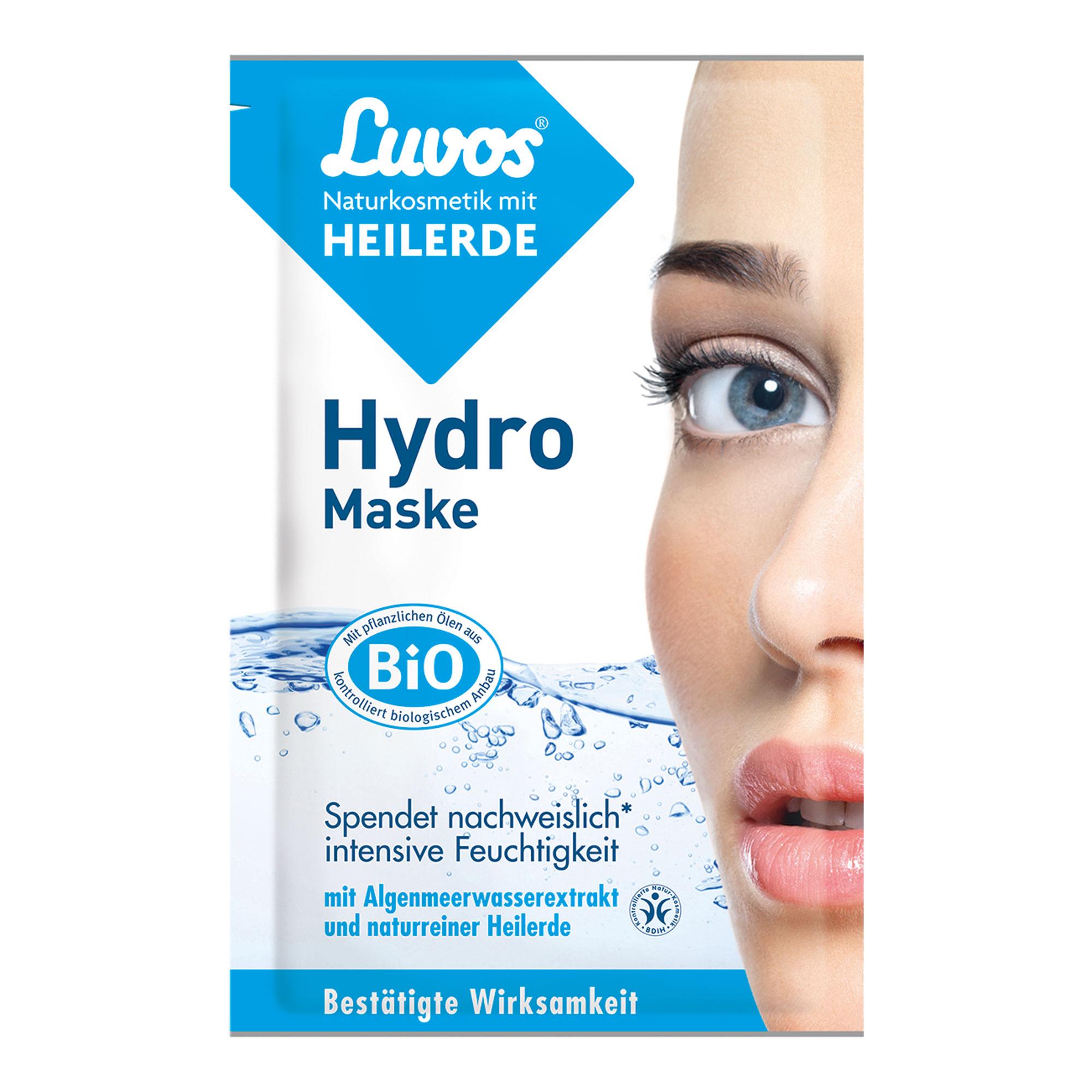 Luvos Naturkosmetik Heilerde Hydro Maske
