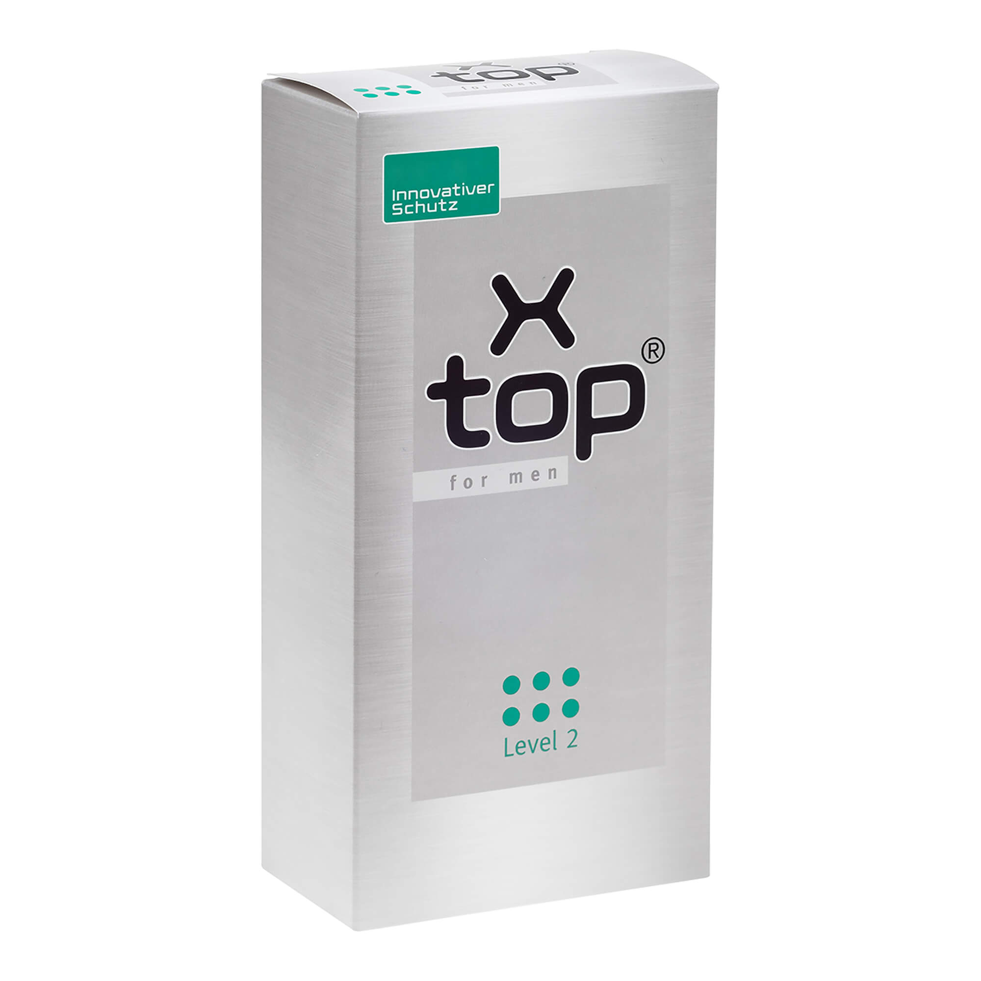 X-Top for men Level 2 bei leichter Blasenschwäche