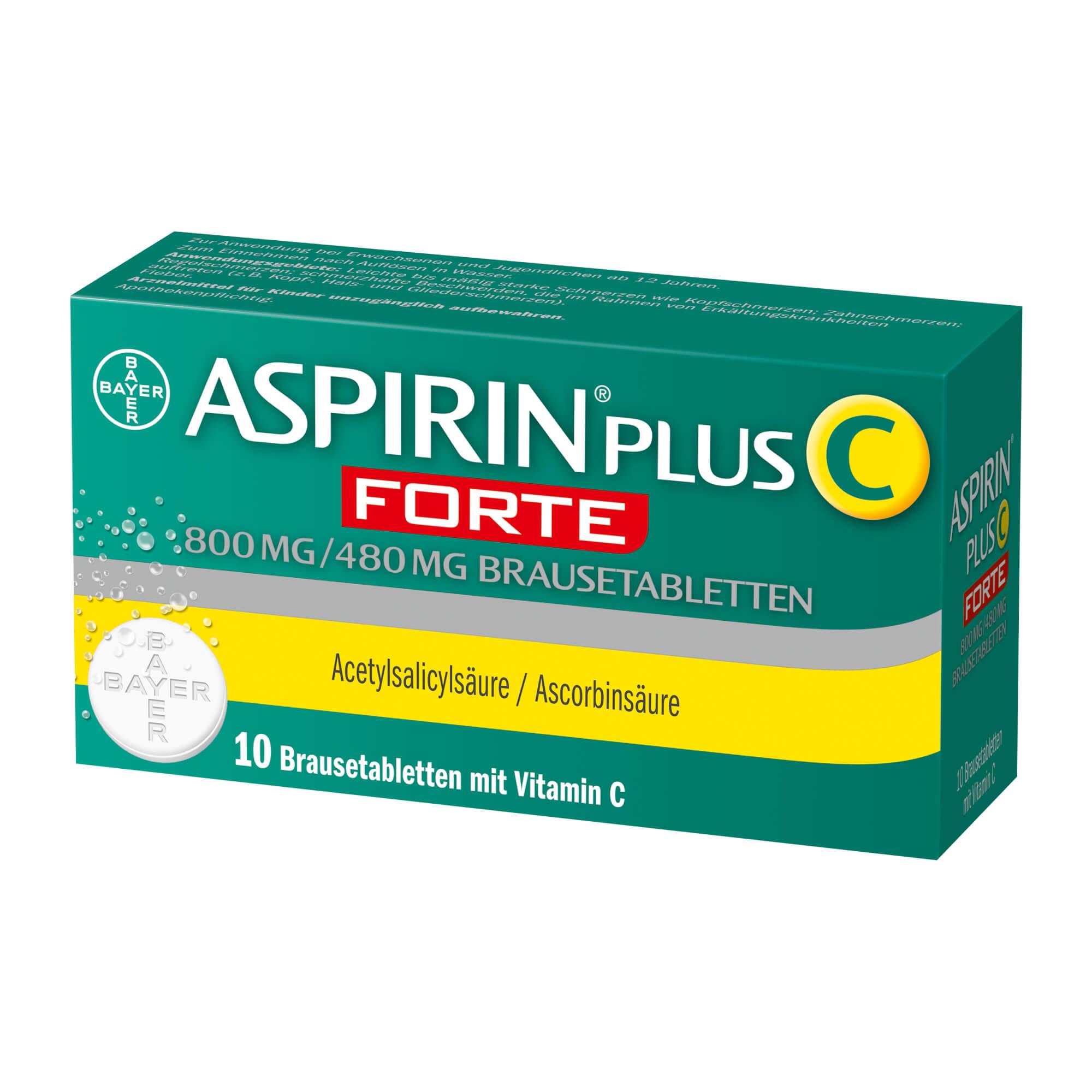 Aspirin Plus C Forte