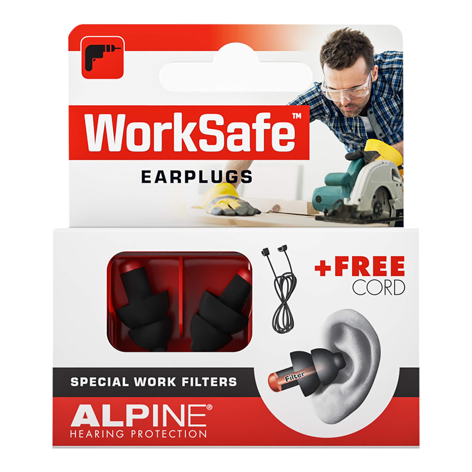 Alpine WorkSafe Ohrstöpsel