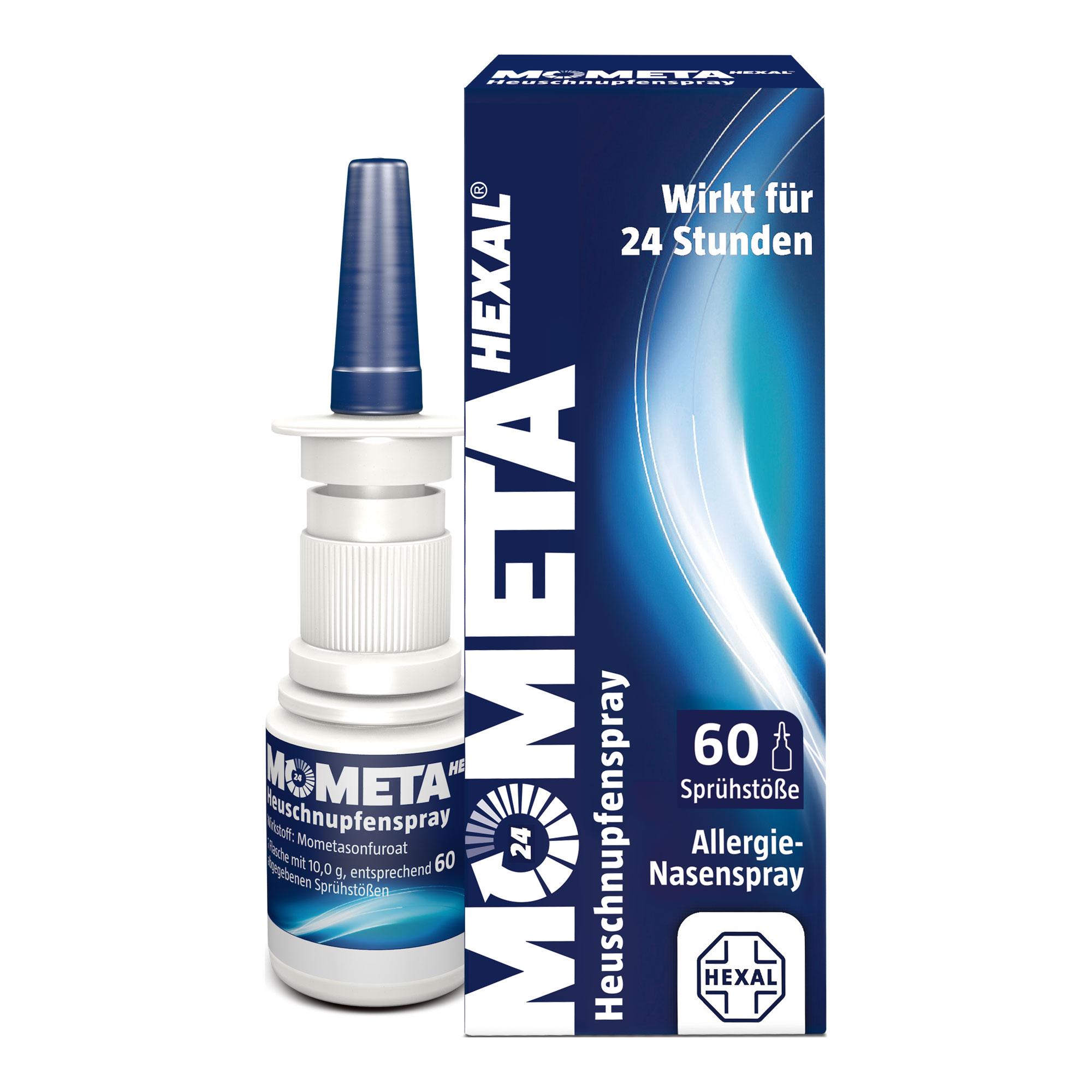 Mometahexal Heuschnupfenspray 50µg