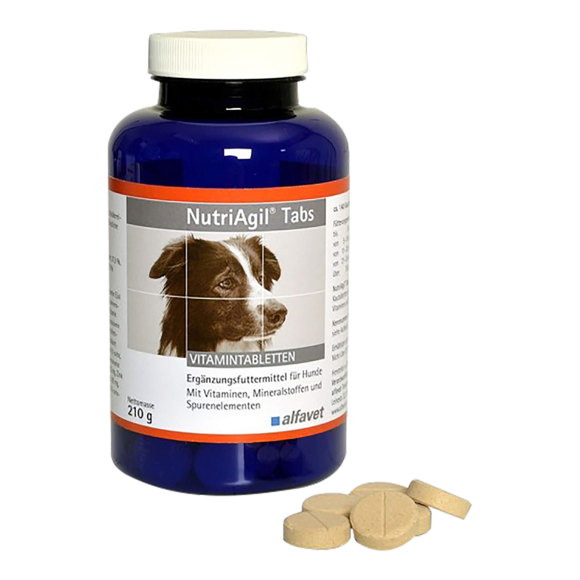 NutriAgil Tabs für Hunde
