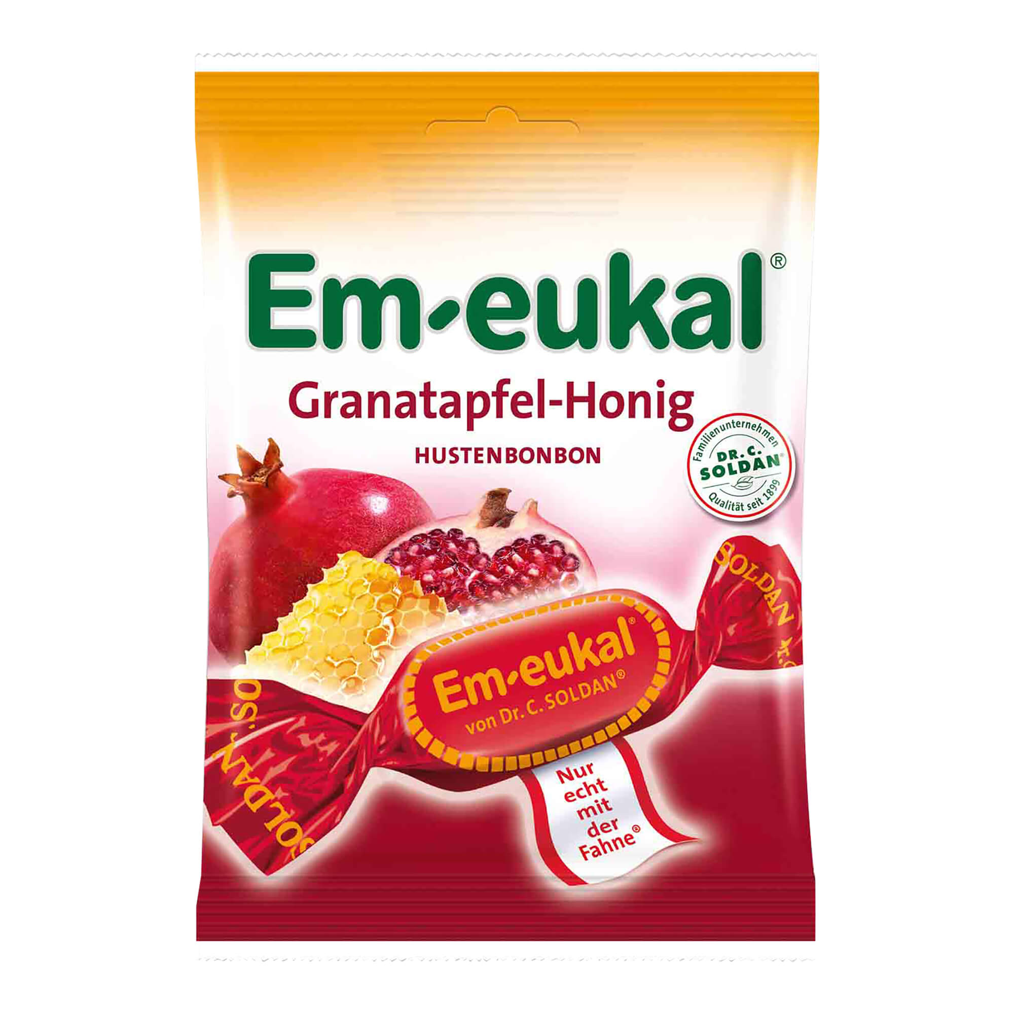 Em Eukal Granatapfel-Honig zuckerhaltig