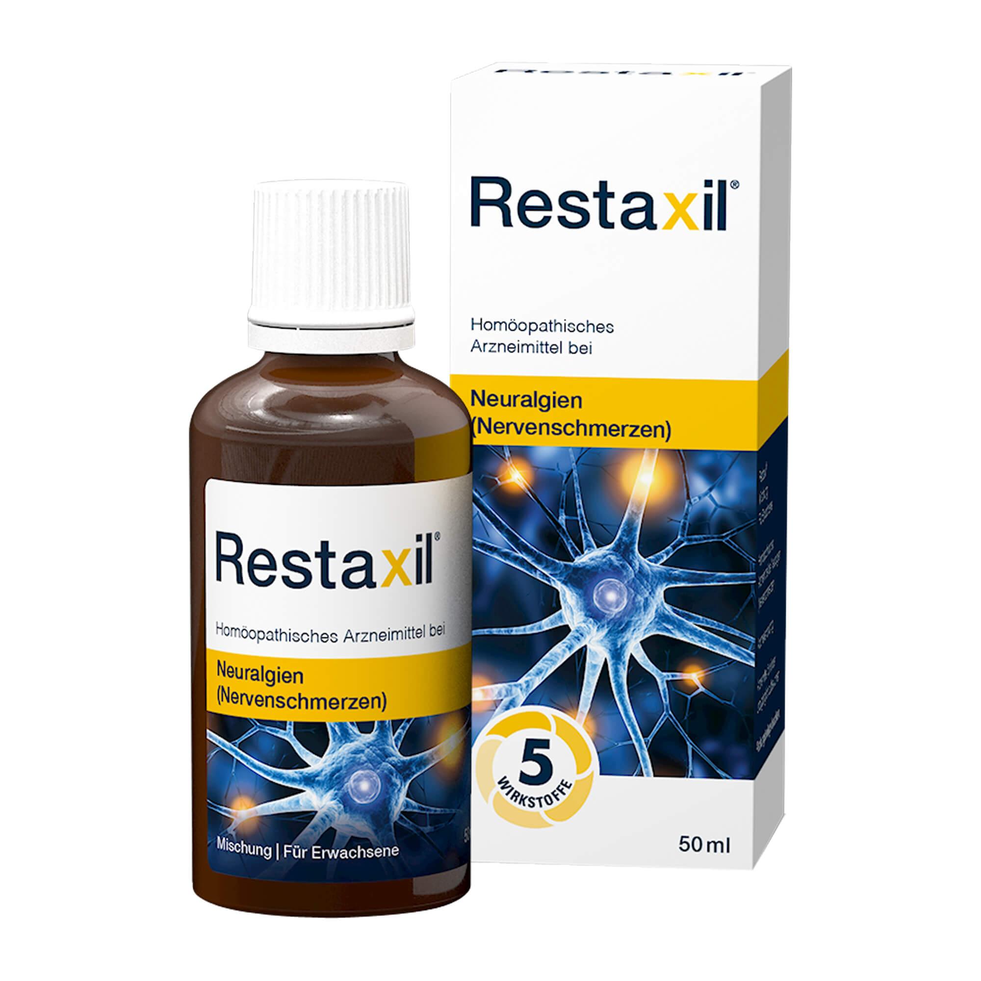 Restaxil flüssig bei Nervenschmerzen