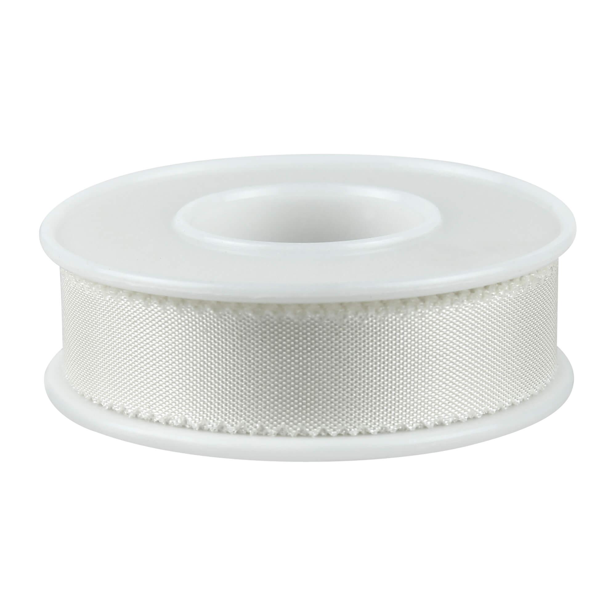 FIWa silk Heftpflaster Seide weiß 1,25 cm x 9 m