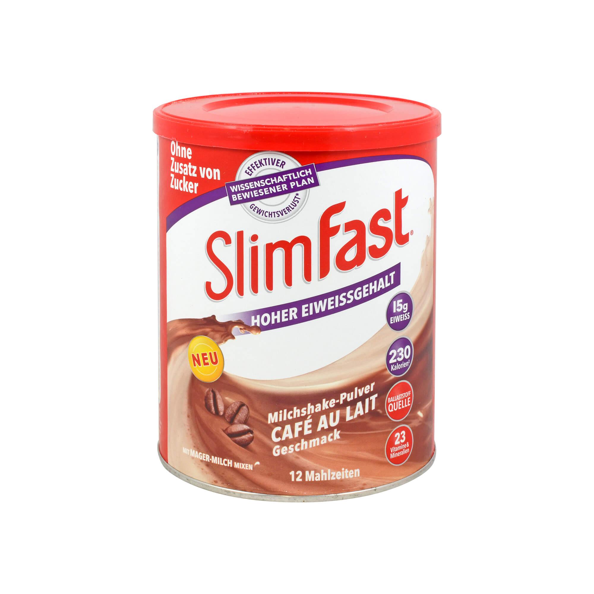 SlimFast Pulver Cafe au Lait