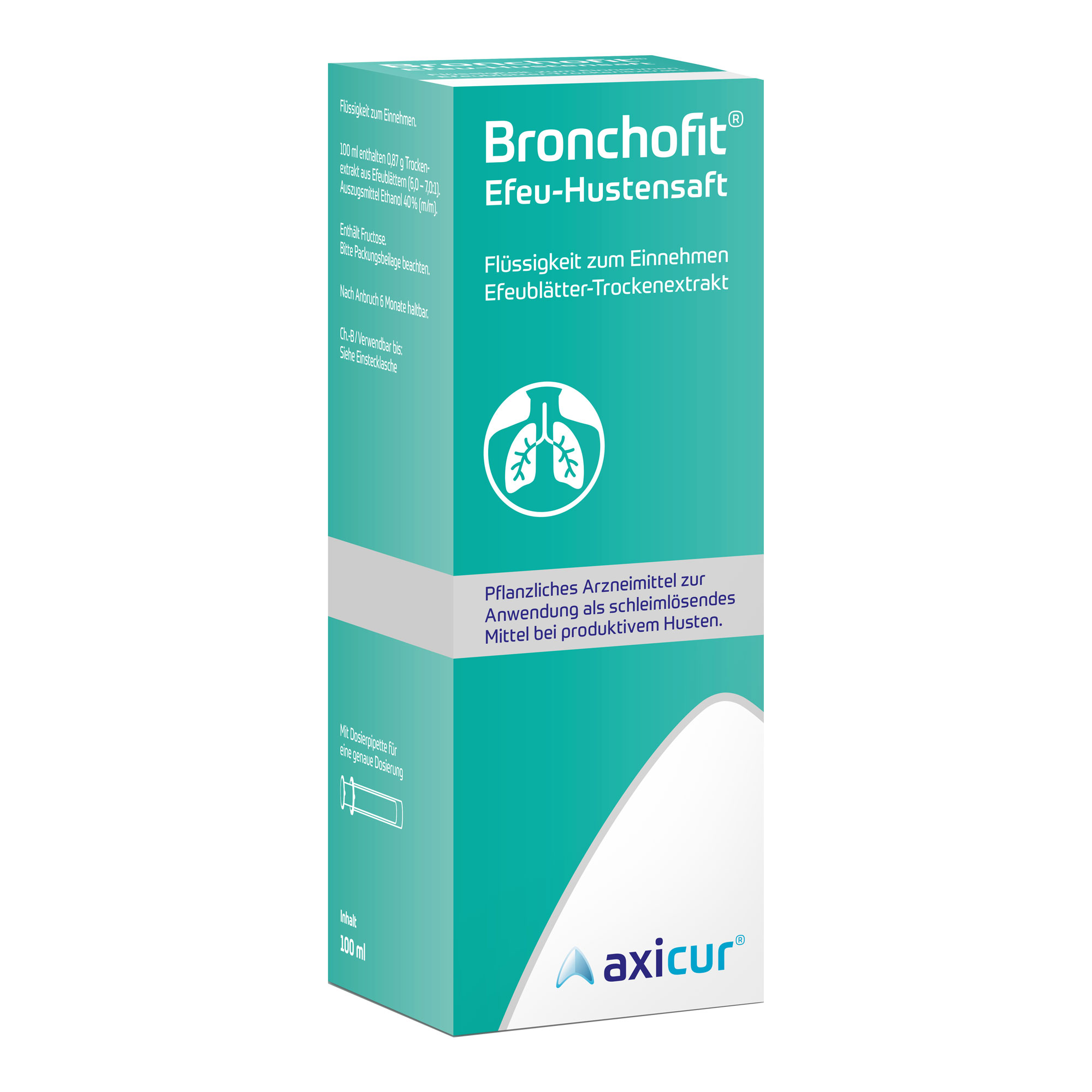 Bronchofit Efeu-Hustensaft 8,7 mg/ml