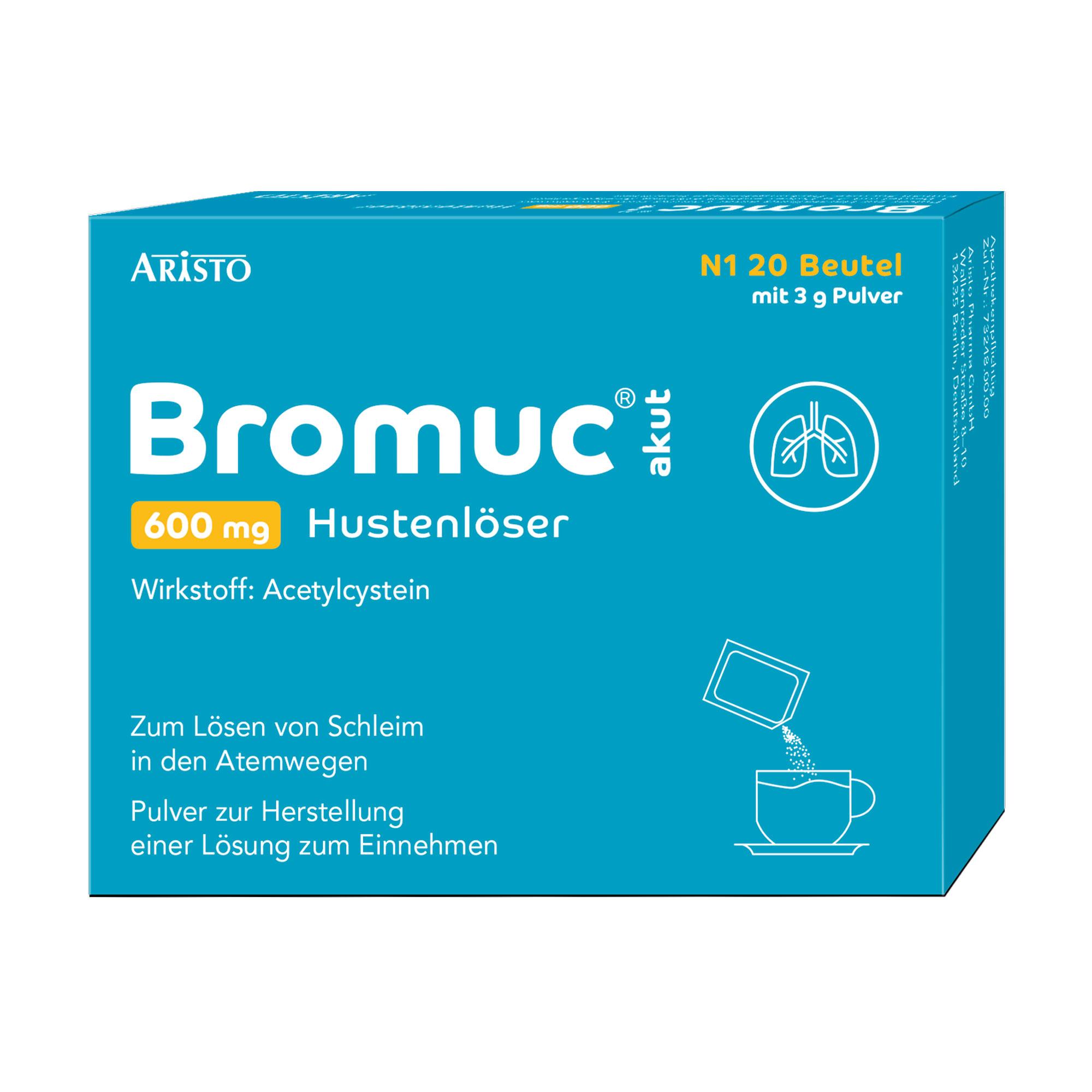 Bromuc akut 600 mg Hustenlöser