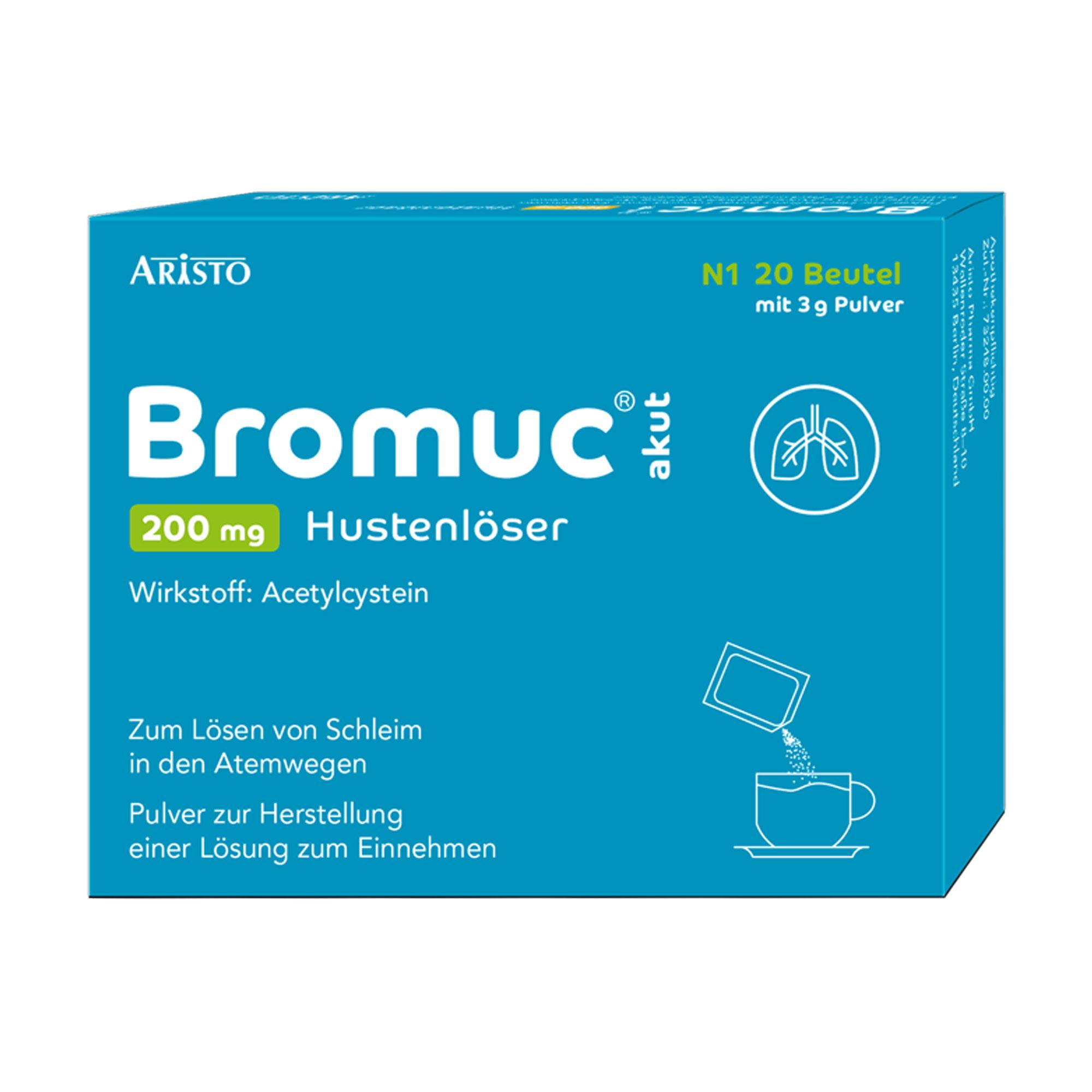 Bromuc akut 200 mg Hustenlöser