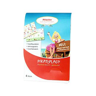 Piratoplast Pflasterzuschnitte für Mädchen 6 x 10 cm