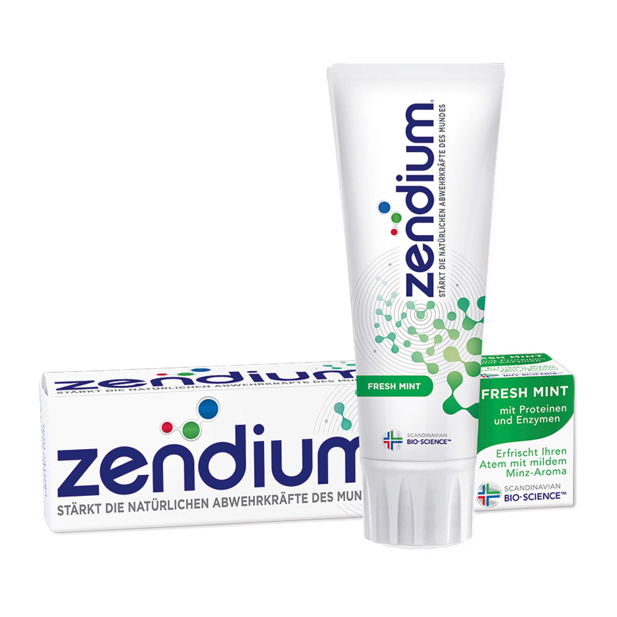 Zendium fresh mint Zahnpasta