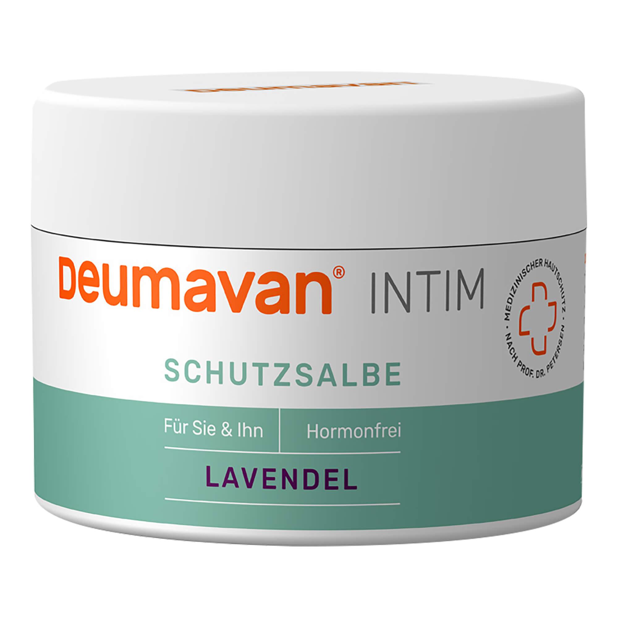 Deumavan Schutzsalbe mit Lavendel Dose Intimpflege