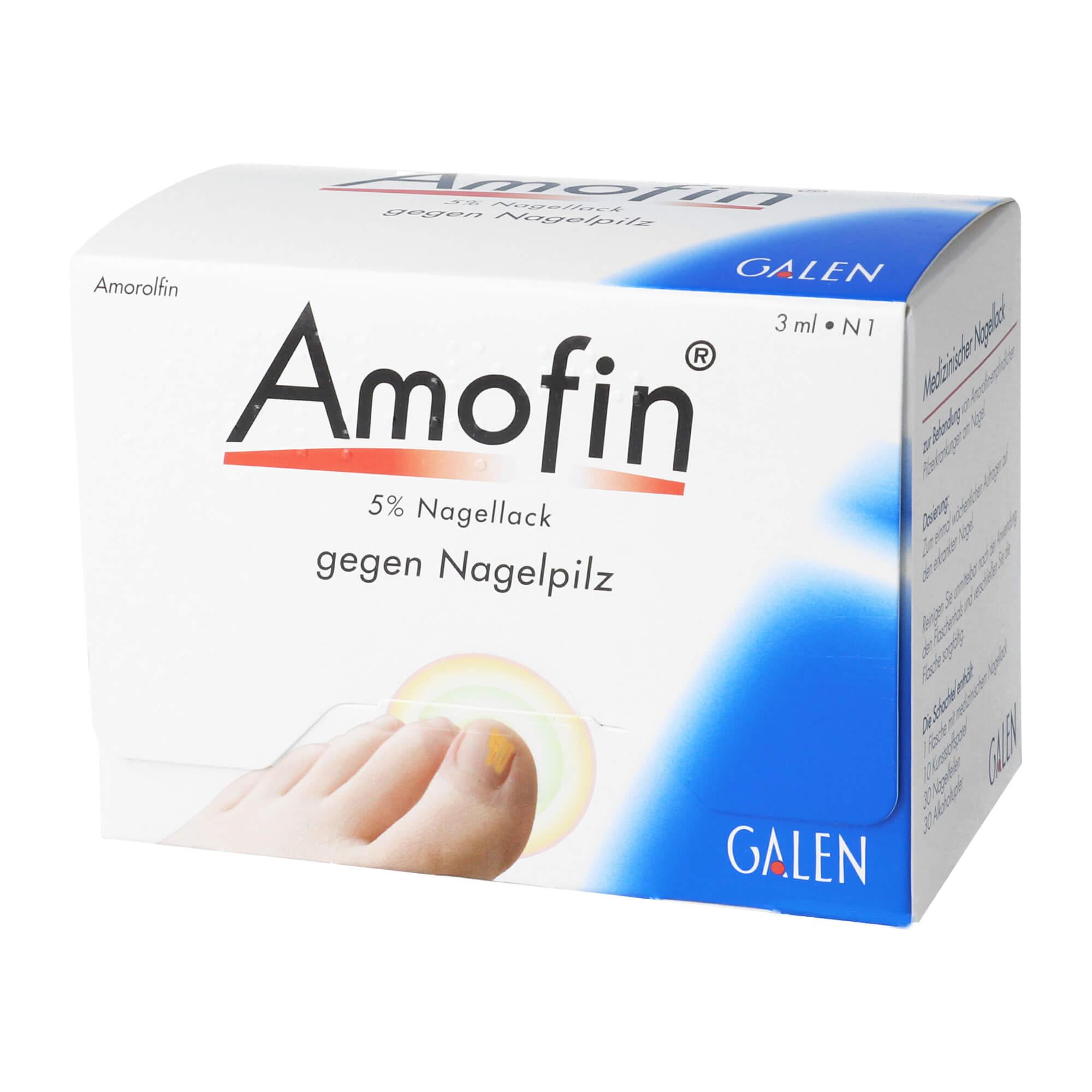 Amofin 5% Nagellack