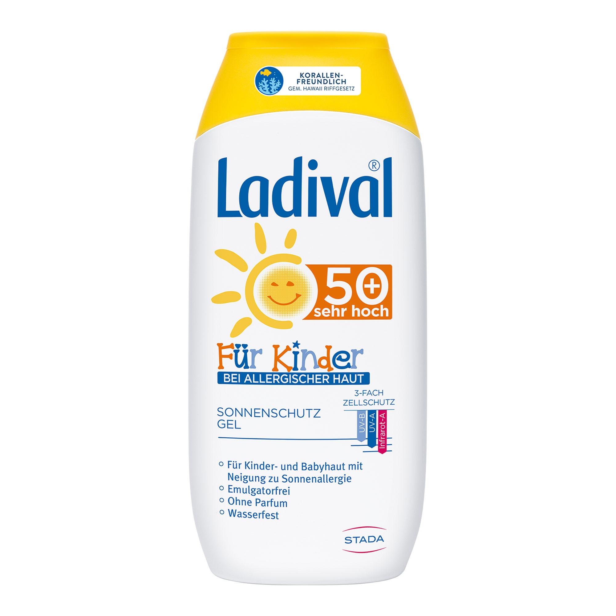 Ladival Sonnenschutz-Gel für Kinder bei allerg. Haut LSF 50+