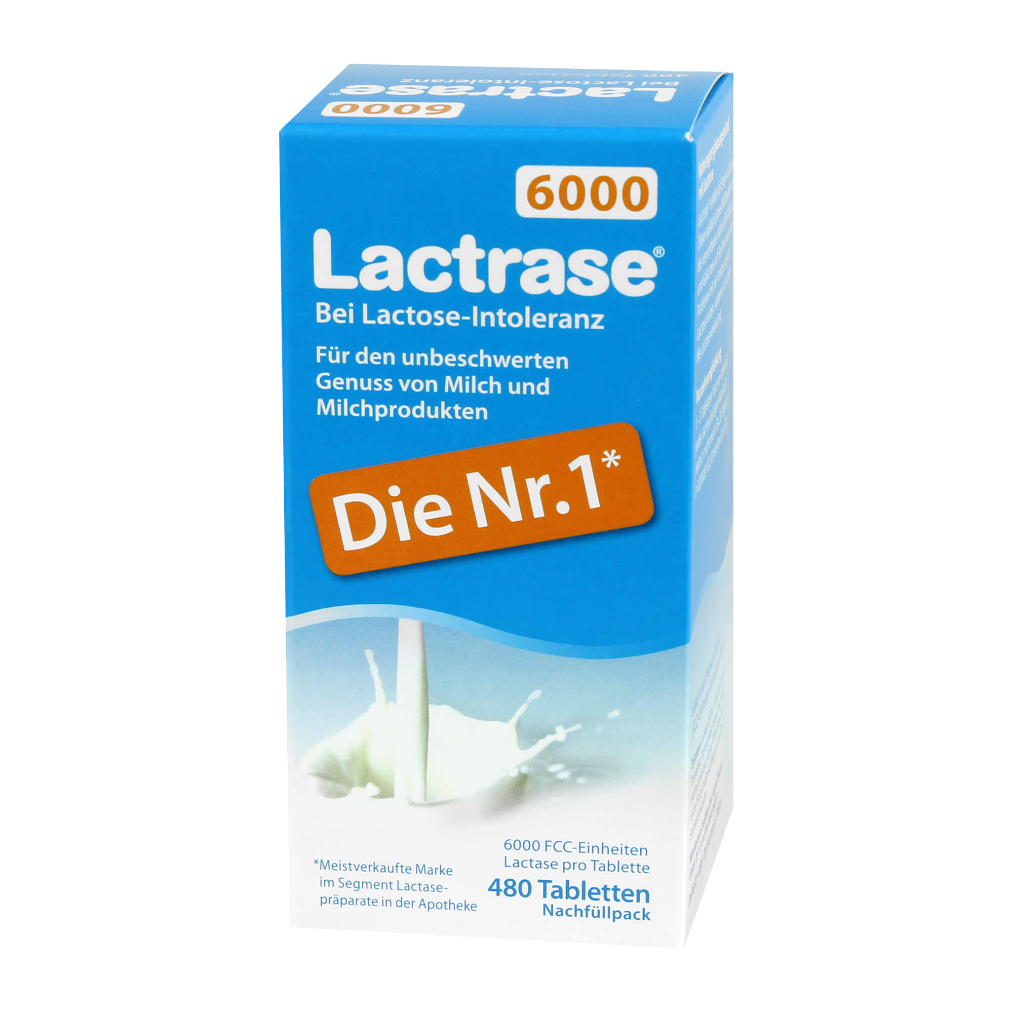 Lactrase 6.000 FCC Tabletten Nachfüllpack