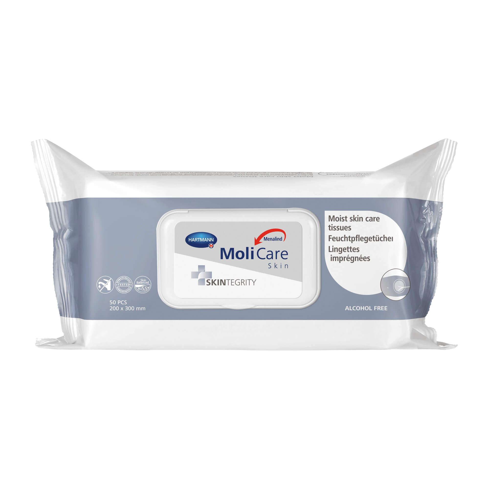MoliCare Skin Feuchtpflegetücher