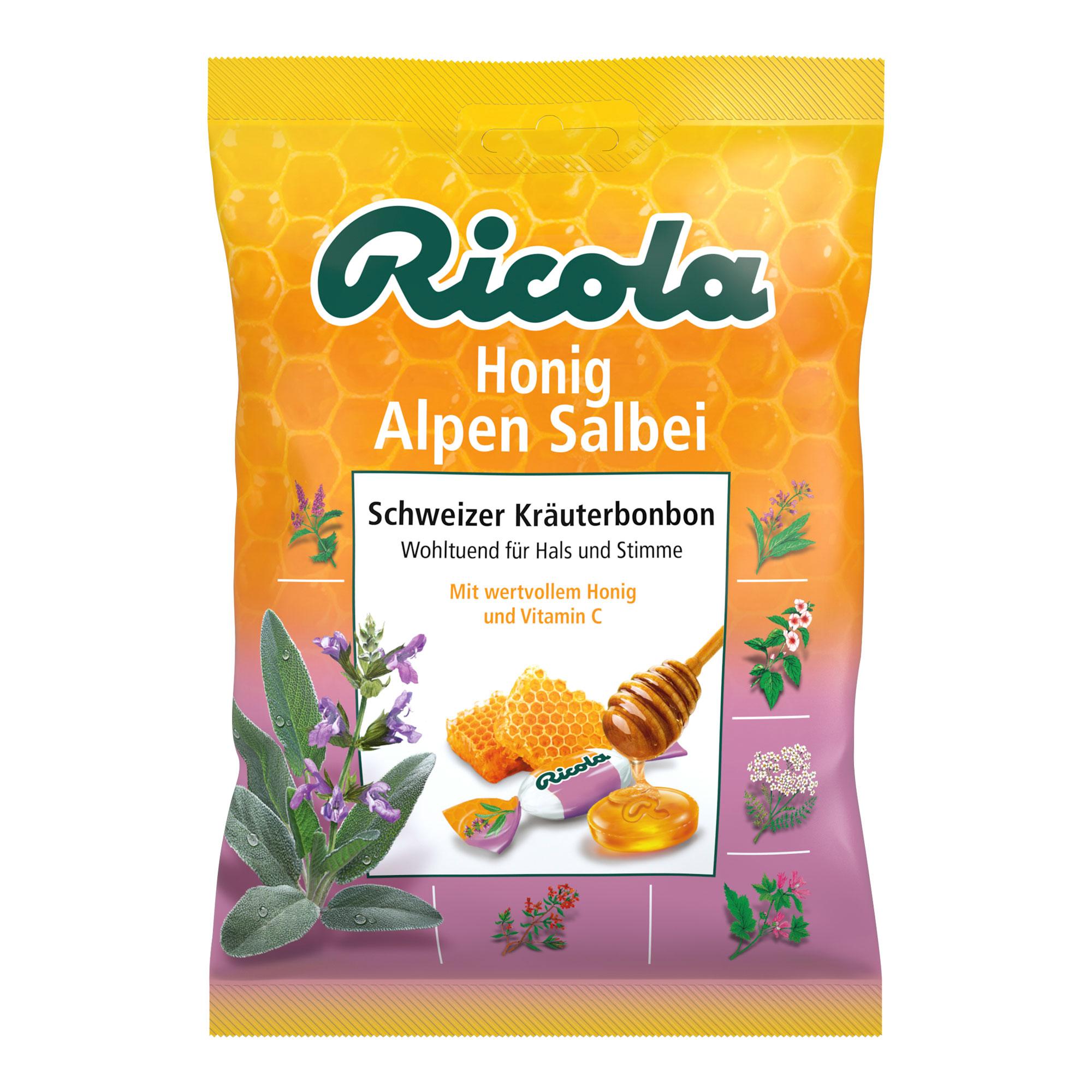 Ricola Honig Alpen Salbei Bonbons
