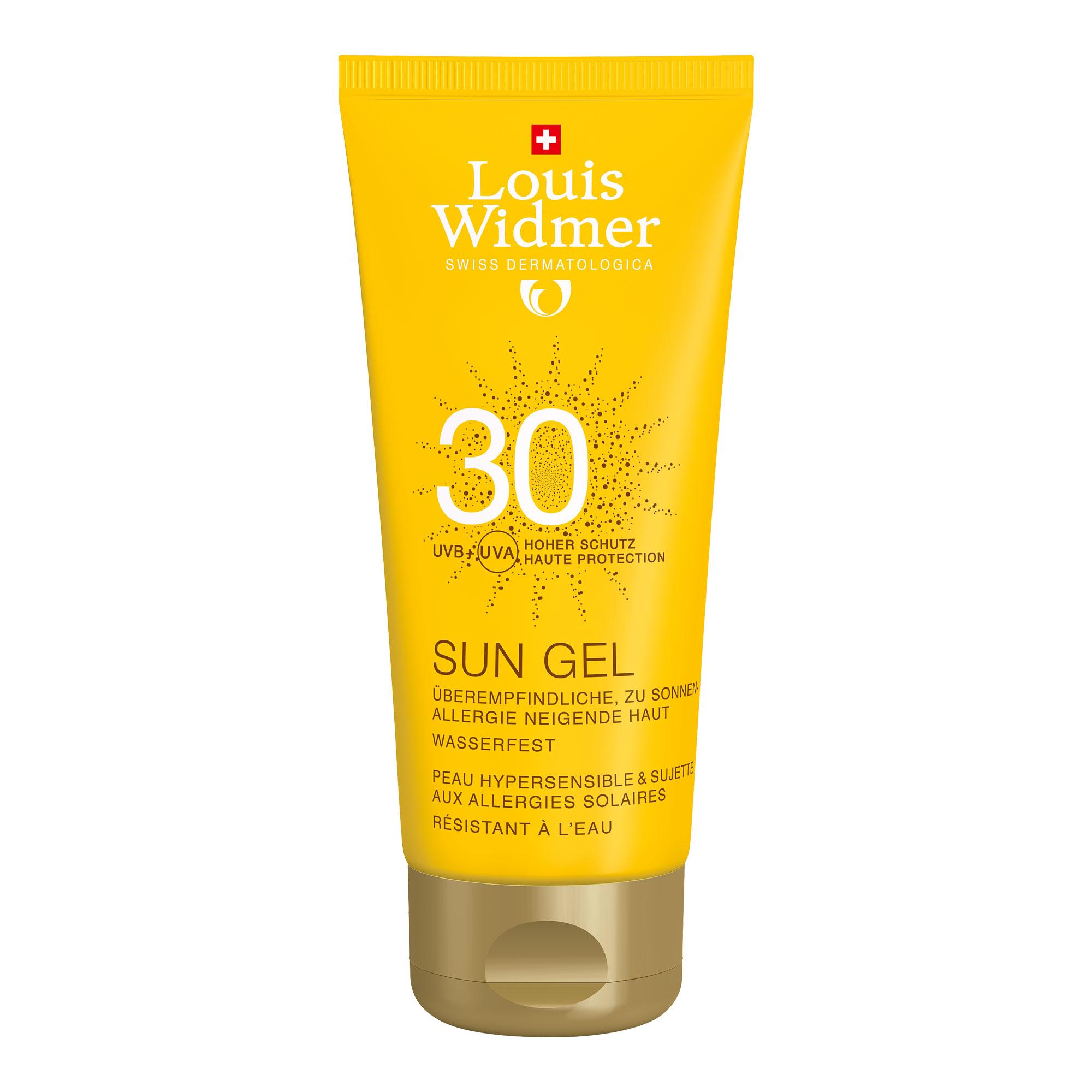 Widmer Sun Gel 30 unparfümiert