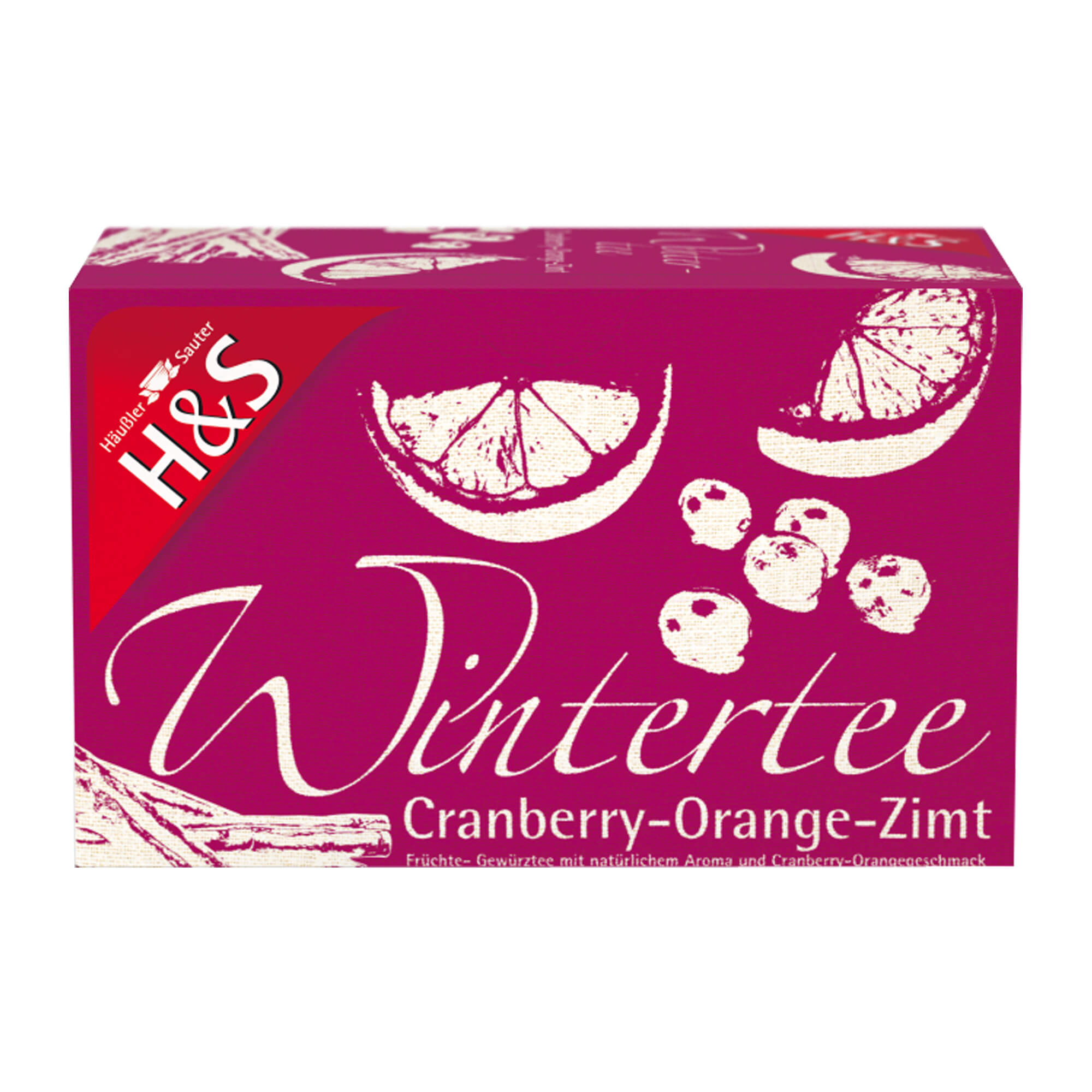H&S Wintertee Cranberry-Orange-Zimt