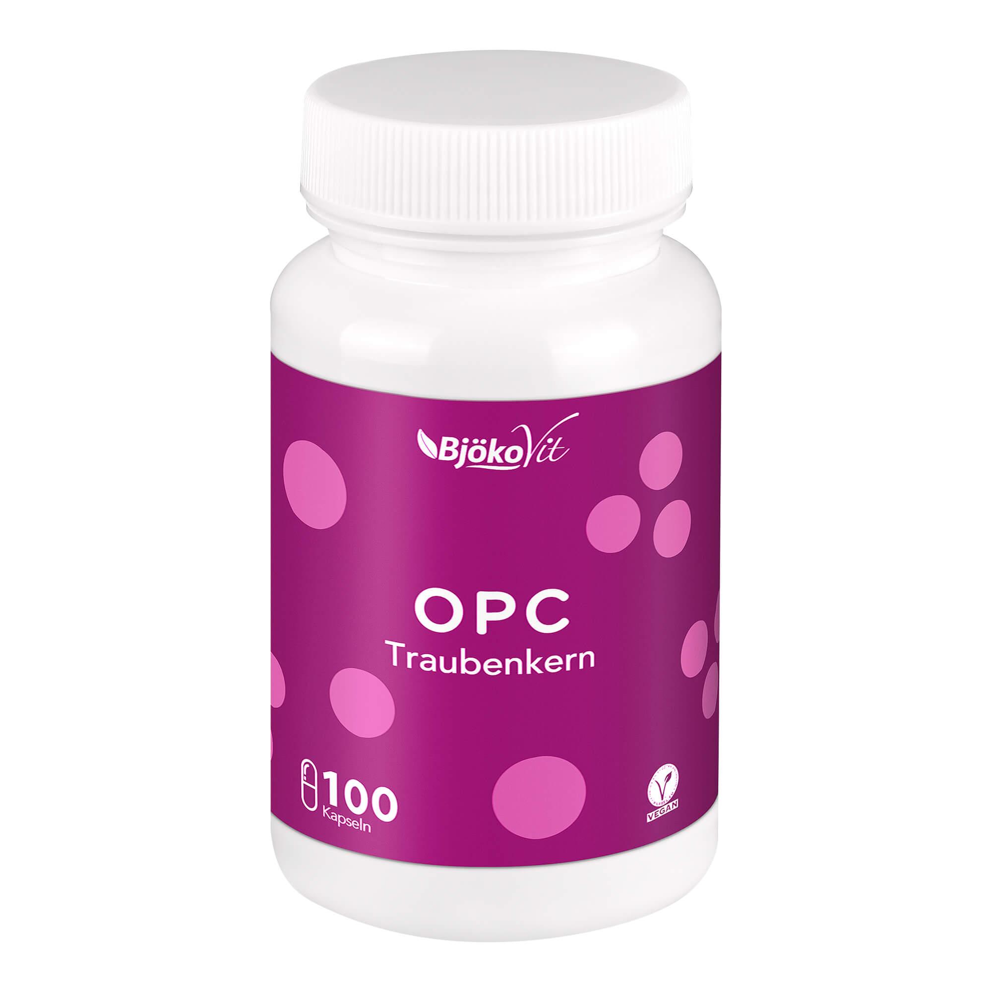 OPC Traubenkern vegan Kapseln