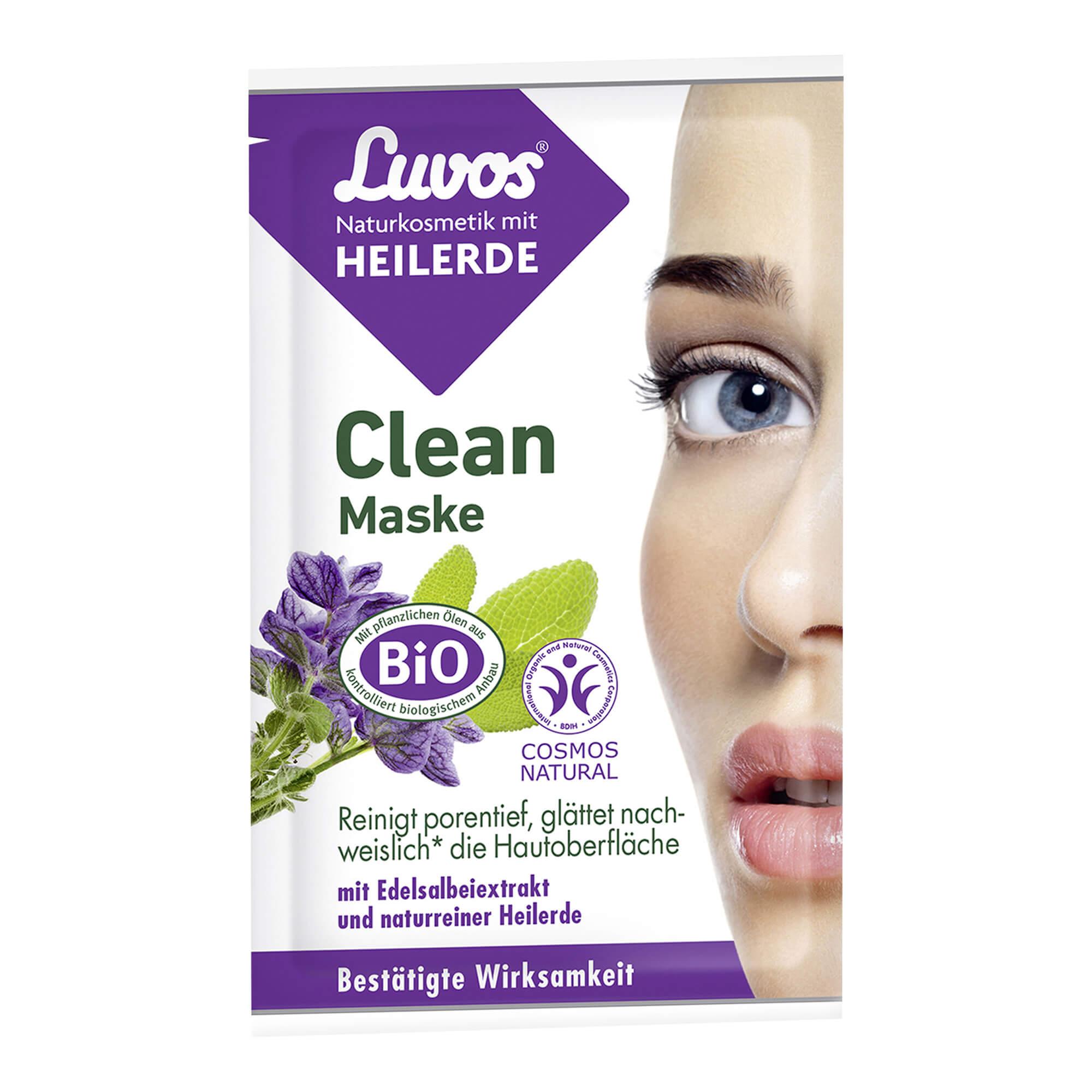 Luvos Heilerde Clean Maske