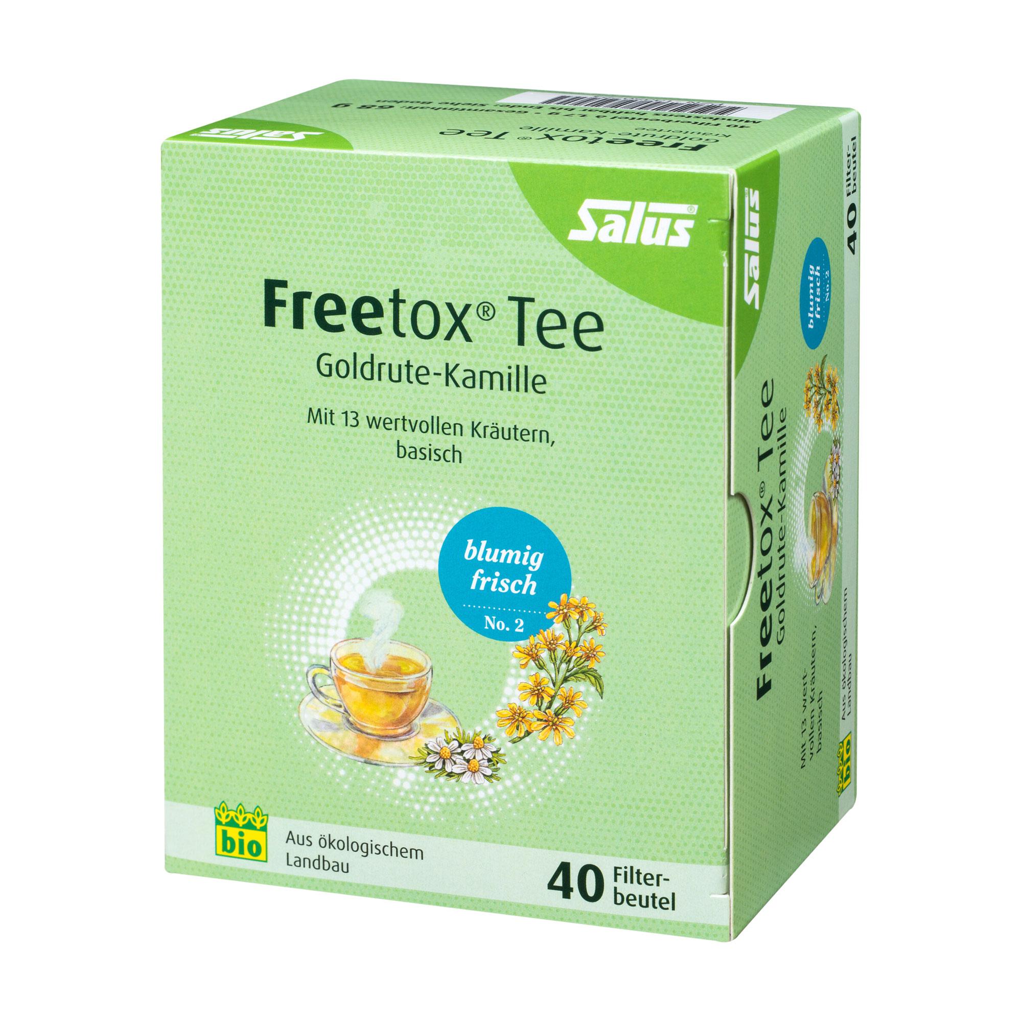 Freetox Tee Goldrute-Kamille Bio Filterbeutel