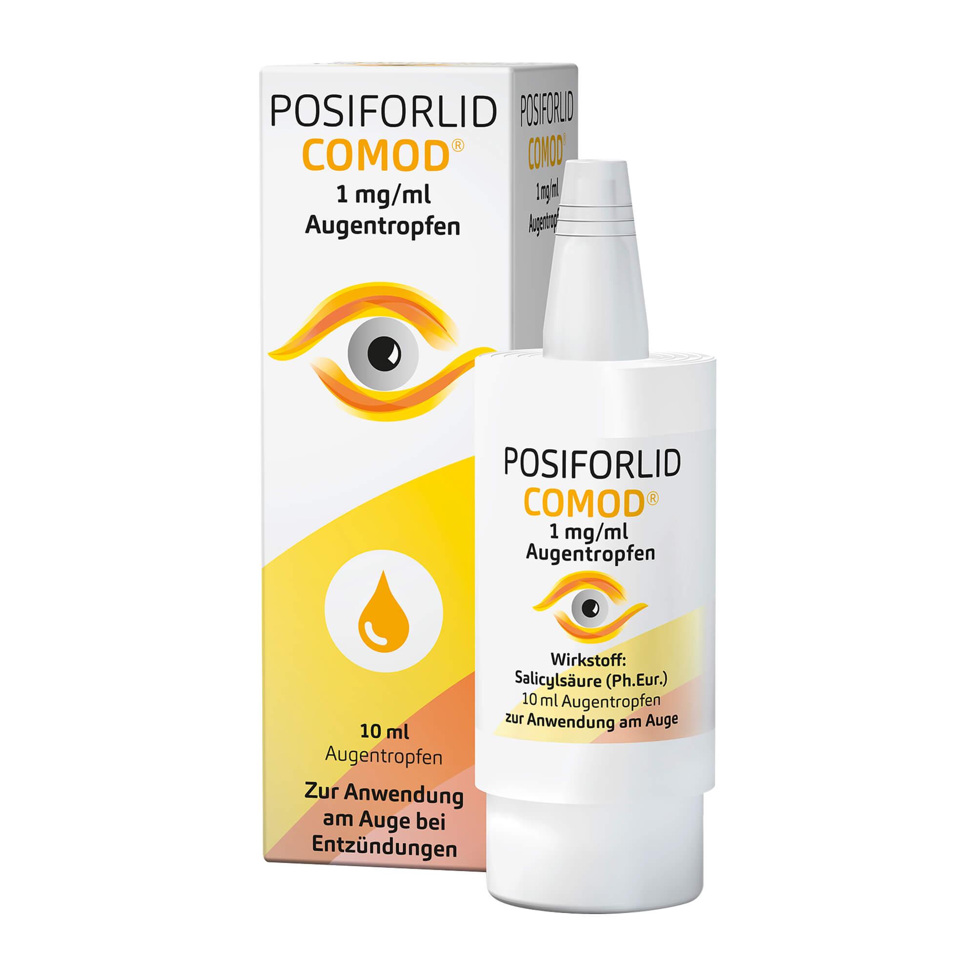 Posiforlid Comod 1 mg/ml Augentropfen