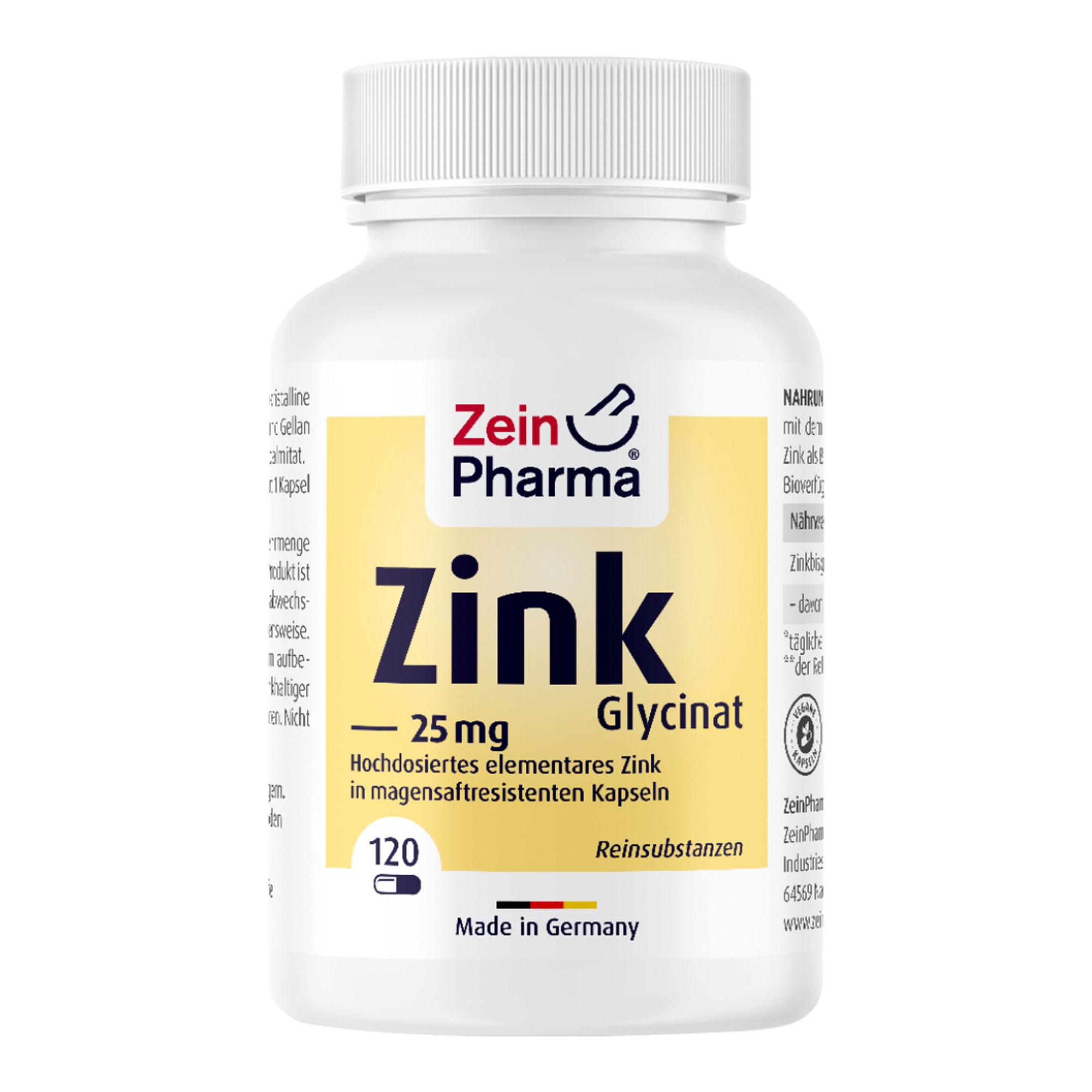 Zink-Chelat 25 mg