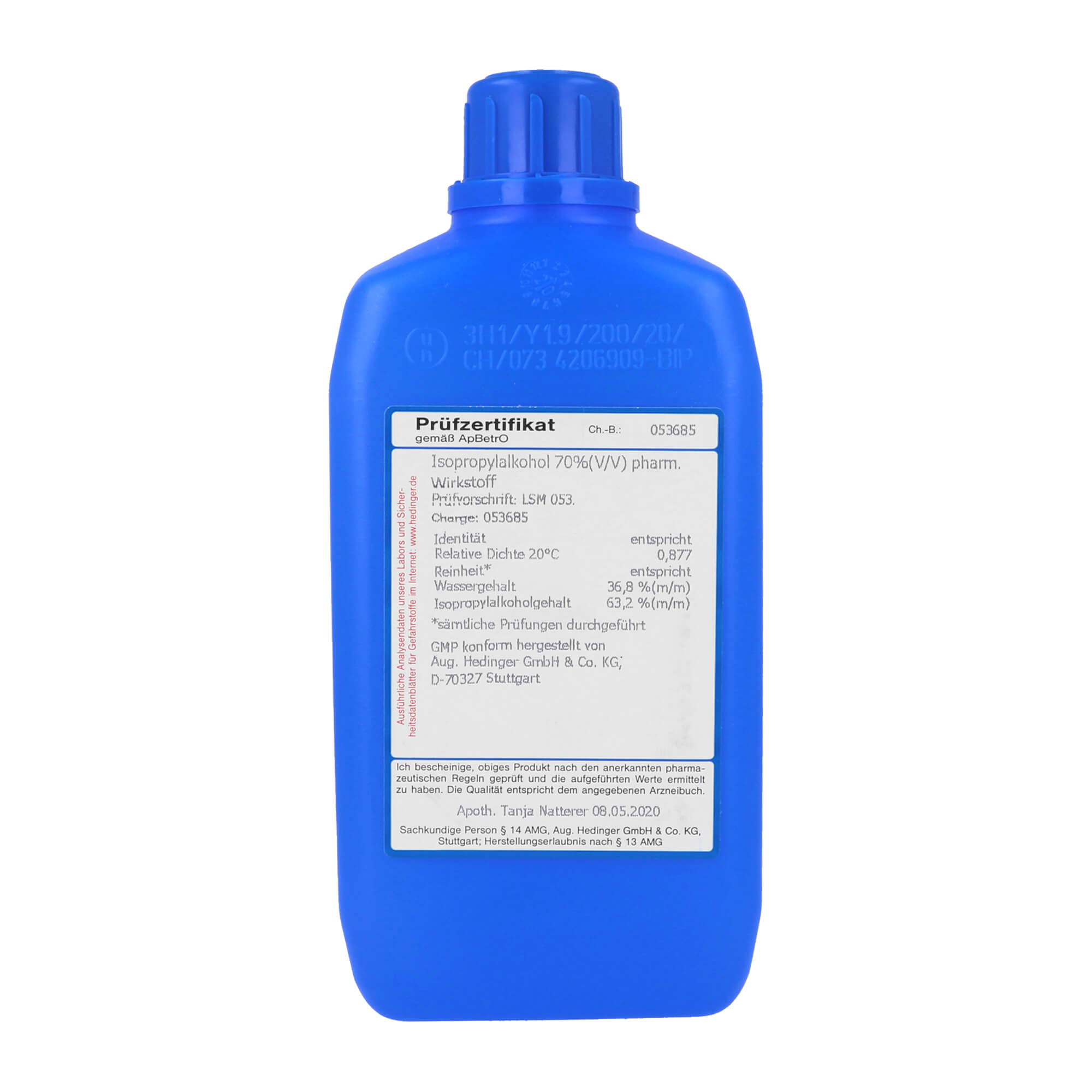 Isopropanol 70 Biozid / GMP 70%