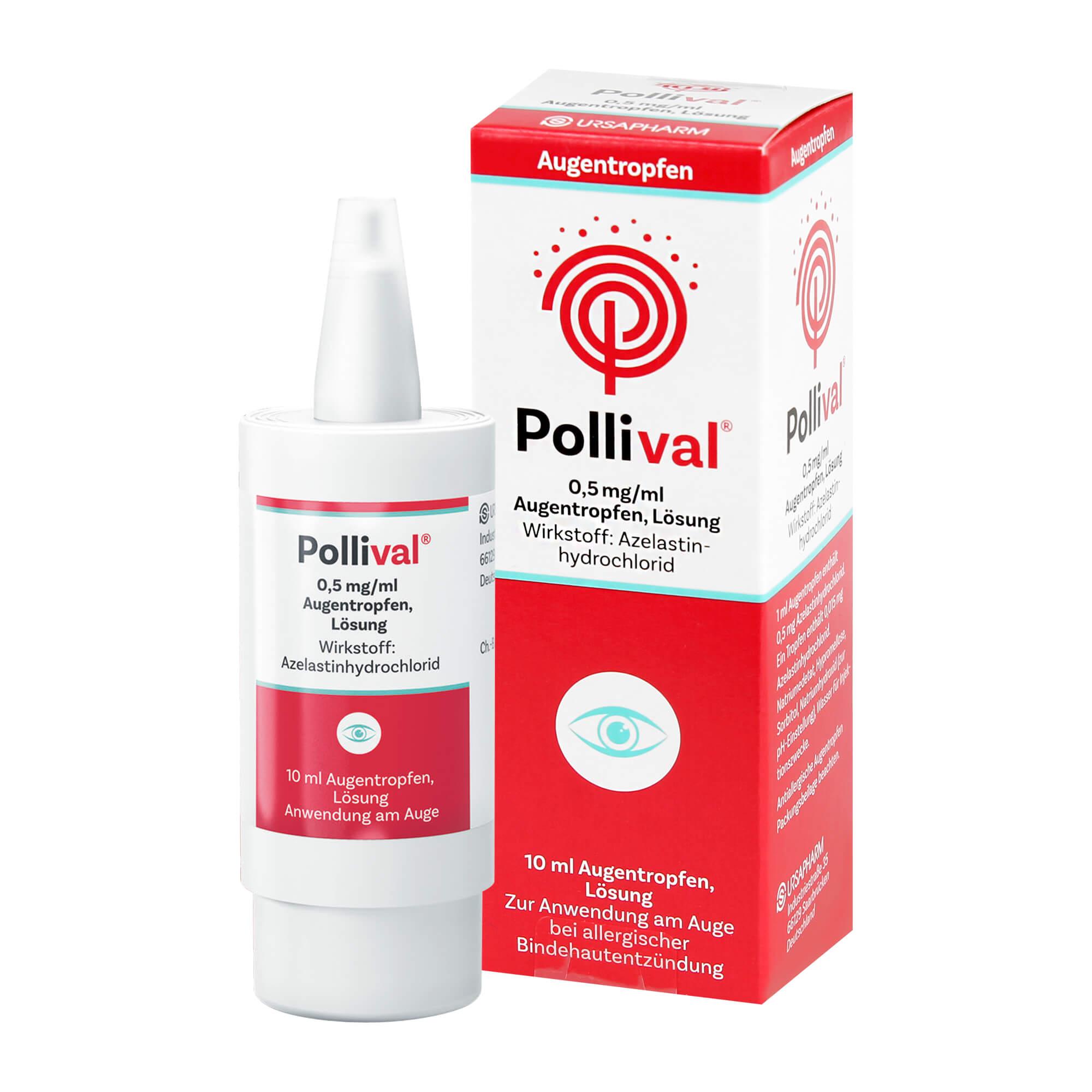 Pollival 0,5 mg/ml Augentropfen