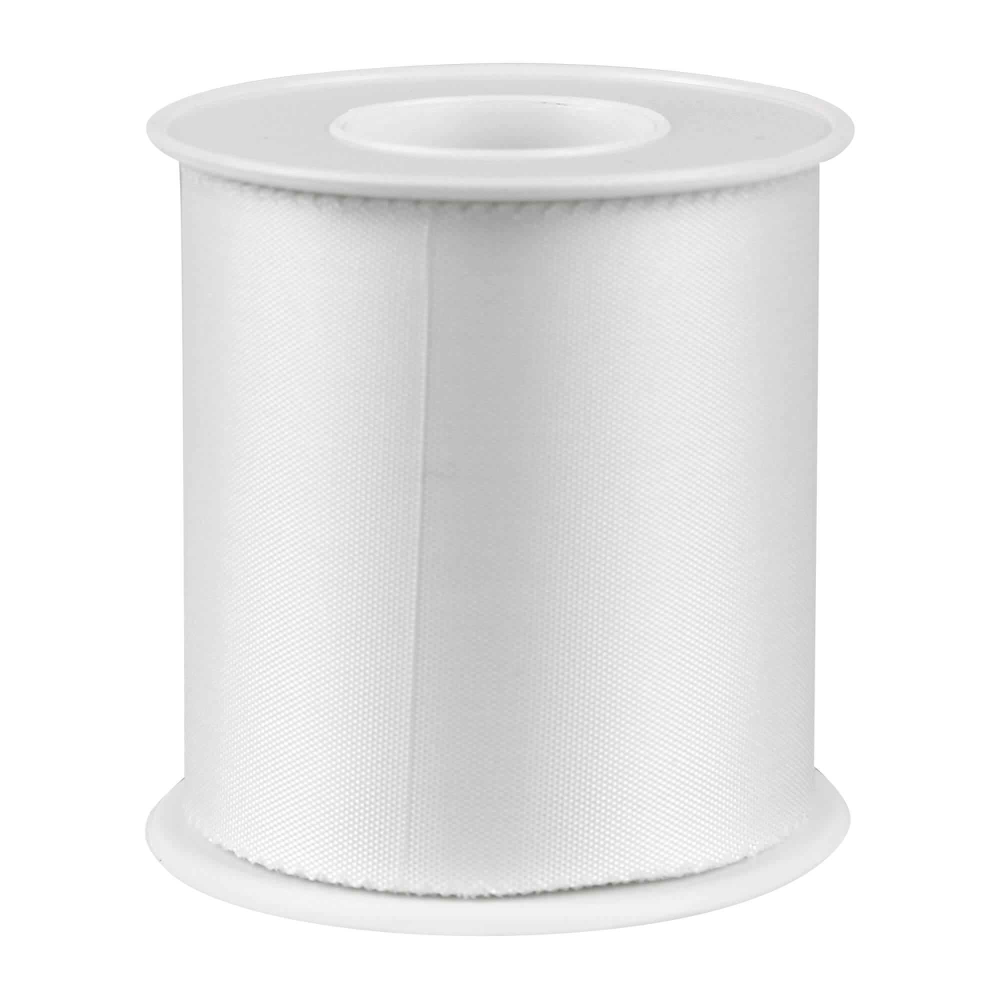 FIWa silk Heftpflaster Seide weiß 5cm x 9m