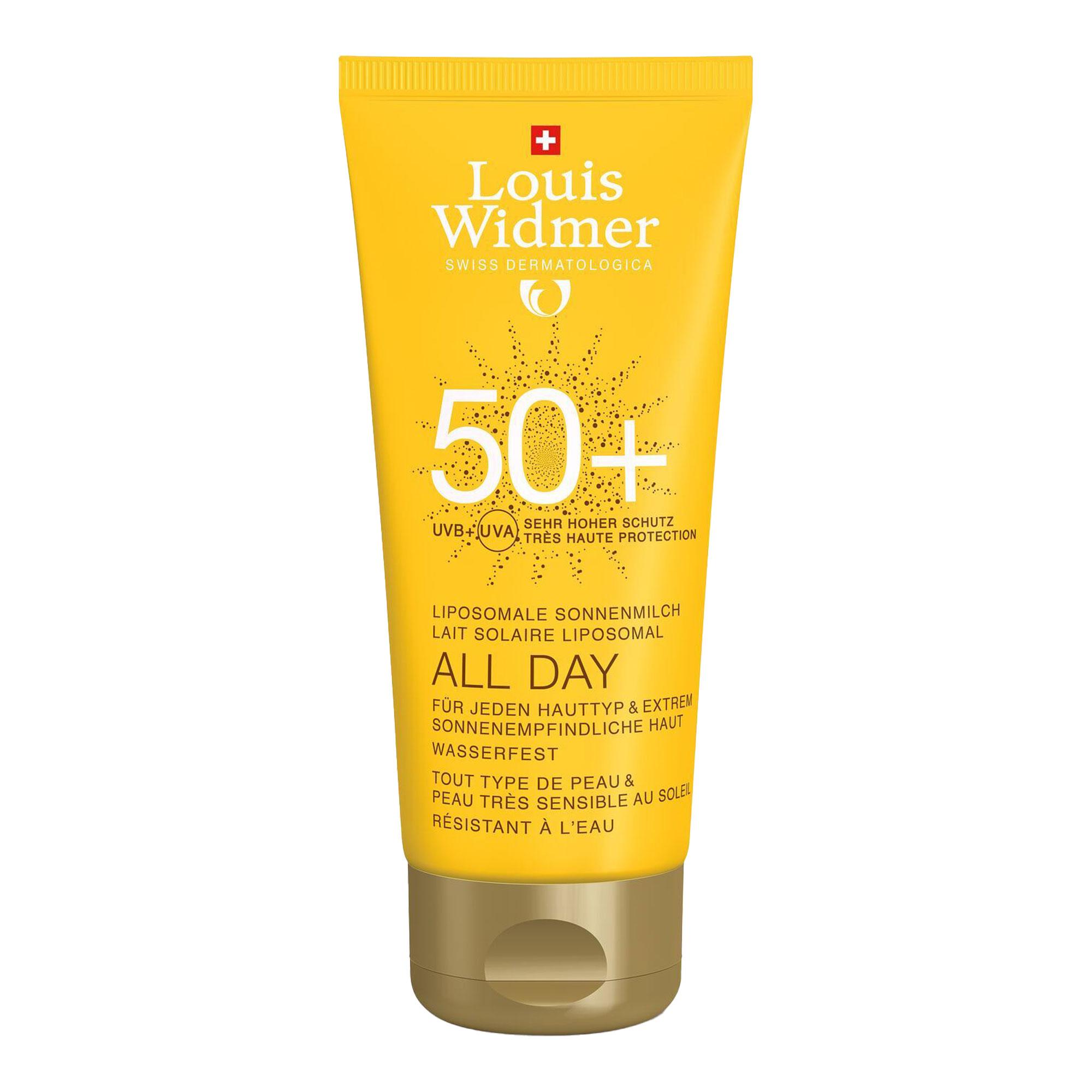 Widmer All Day 50+ leicht parfümiert